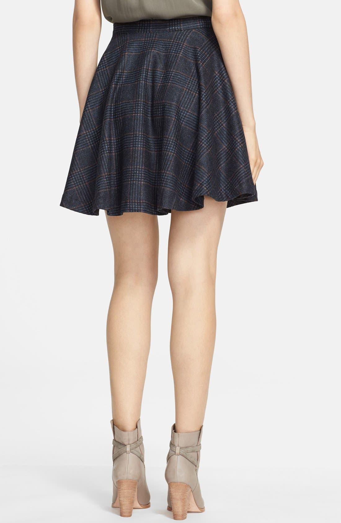 Alternate Image 2  - Joie 'Ivanna' Plaid Flare Skirt