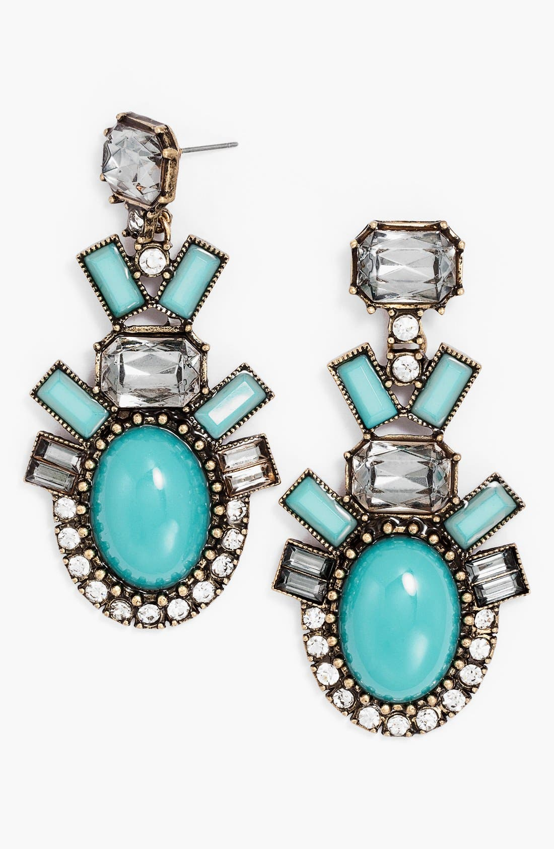Main Image - BaubleBar 'Contrast Galactic' Drop Earrings