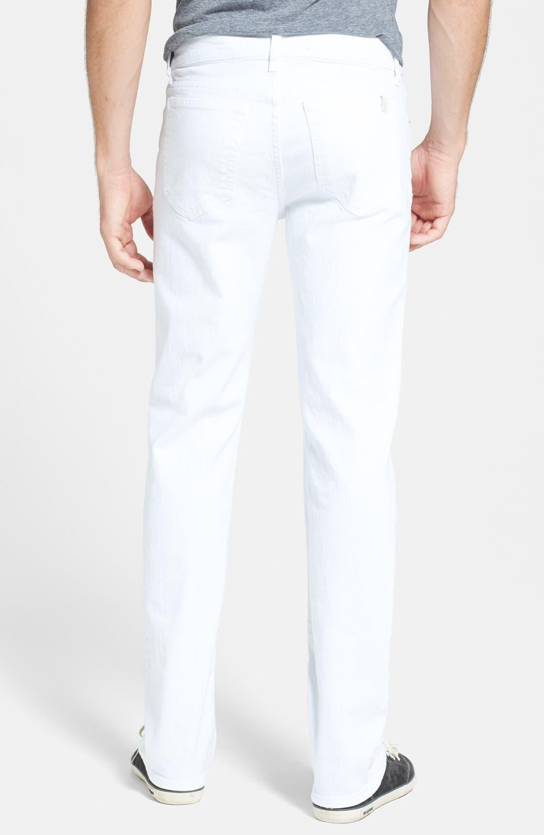 Alternate Image 2  - Joe's 'Classic' Straight Leg Jeans (Optic White)