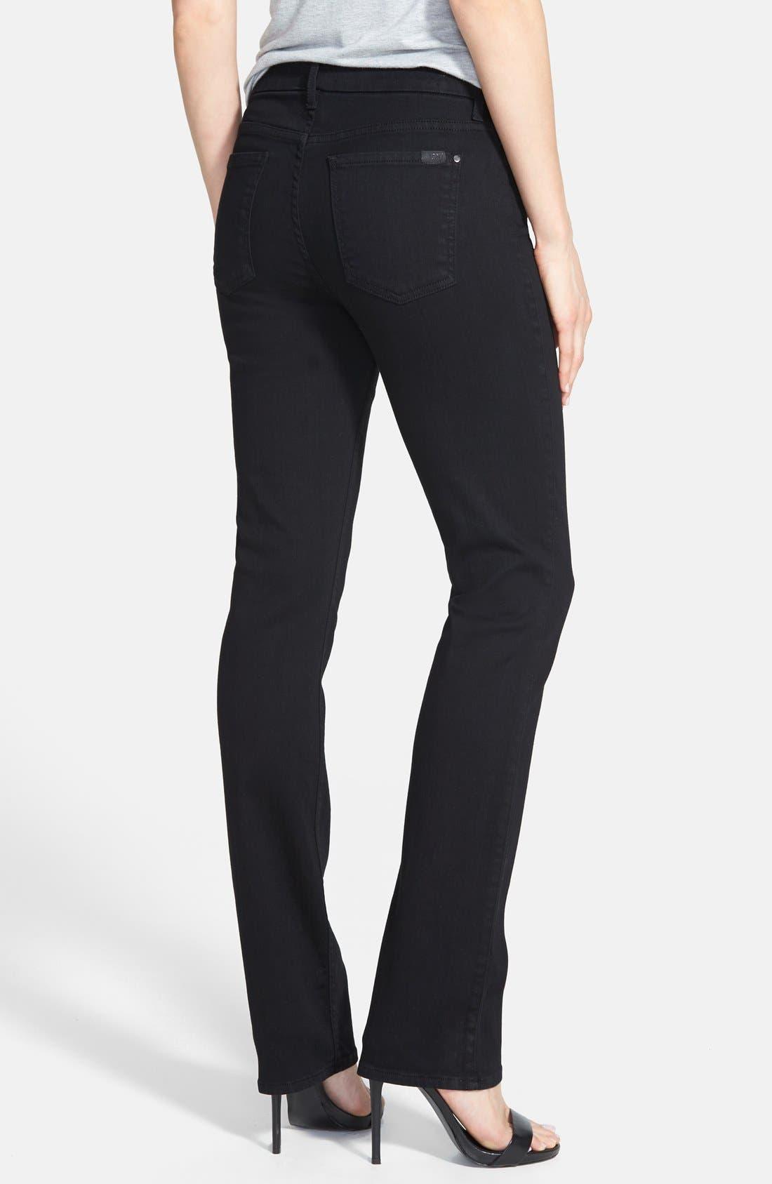 Alternate Image 2  - Jen7 Stretch Straight Leg Jeans