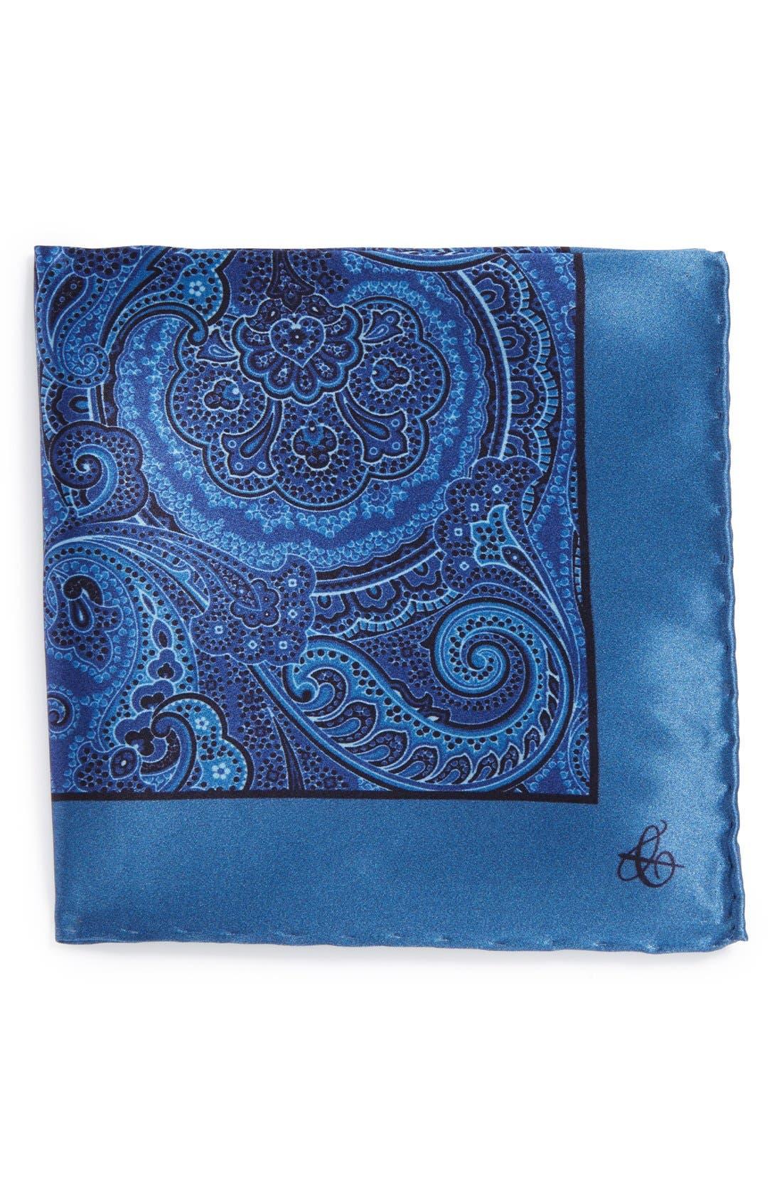 Alternate Image 1 Selected - Canali Silk Pocket Square