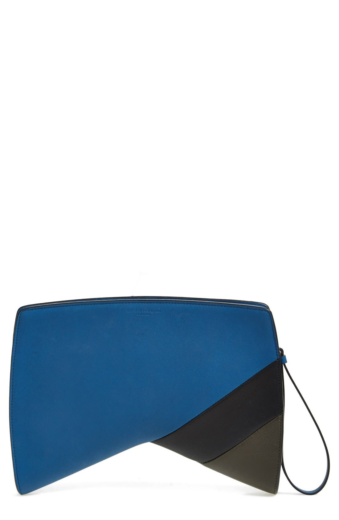 Main Image - Narciso Rodriguez 'Boomerang' Leather Clutch