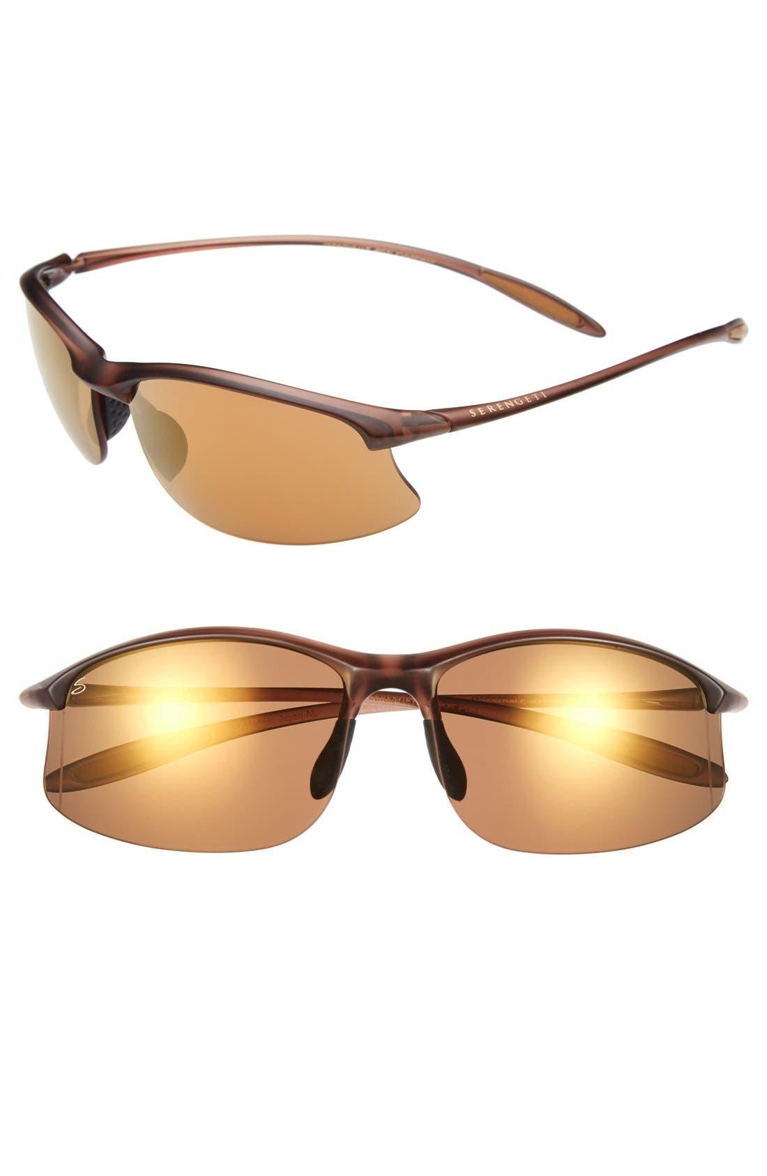 Alternate Image 1 Selected - Serengeti 'Maestrale' 65mm Polarized Sunglasses