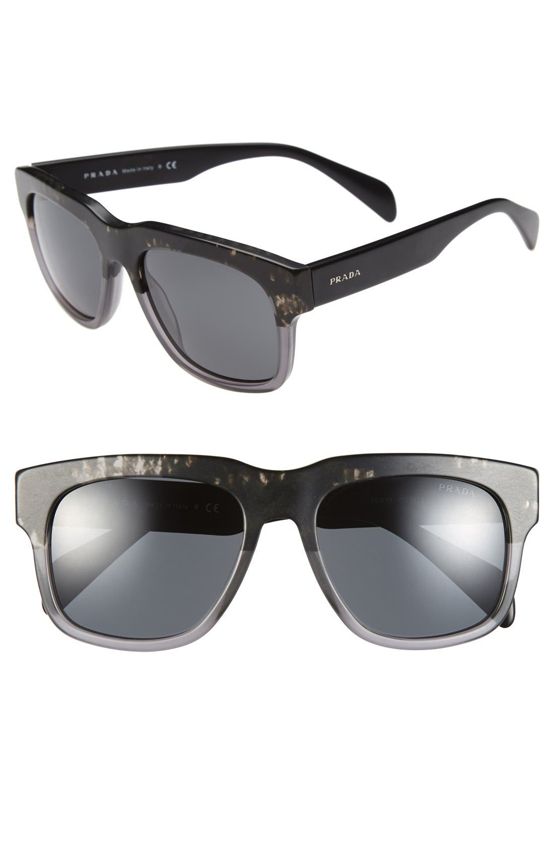 Alternate Image 1 Selected - Prada 55mm Sunglasses