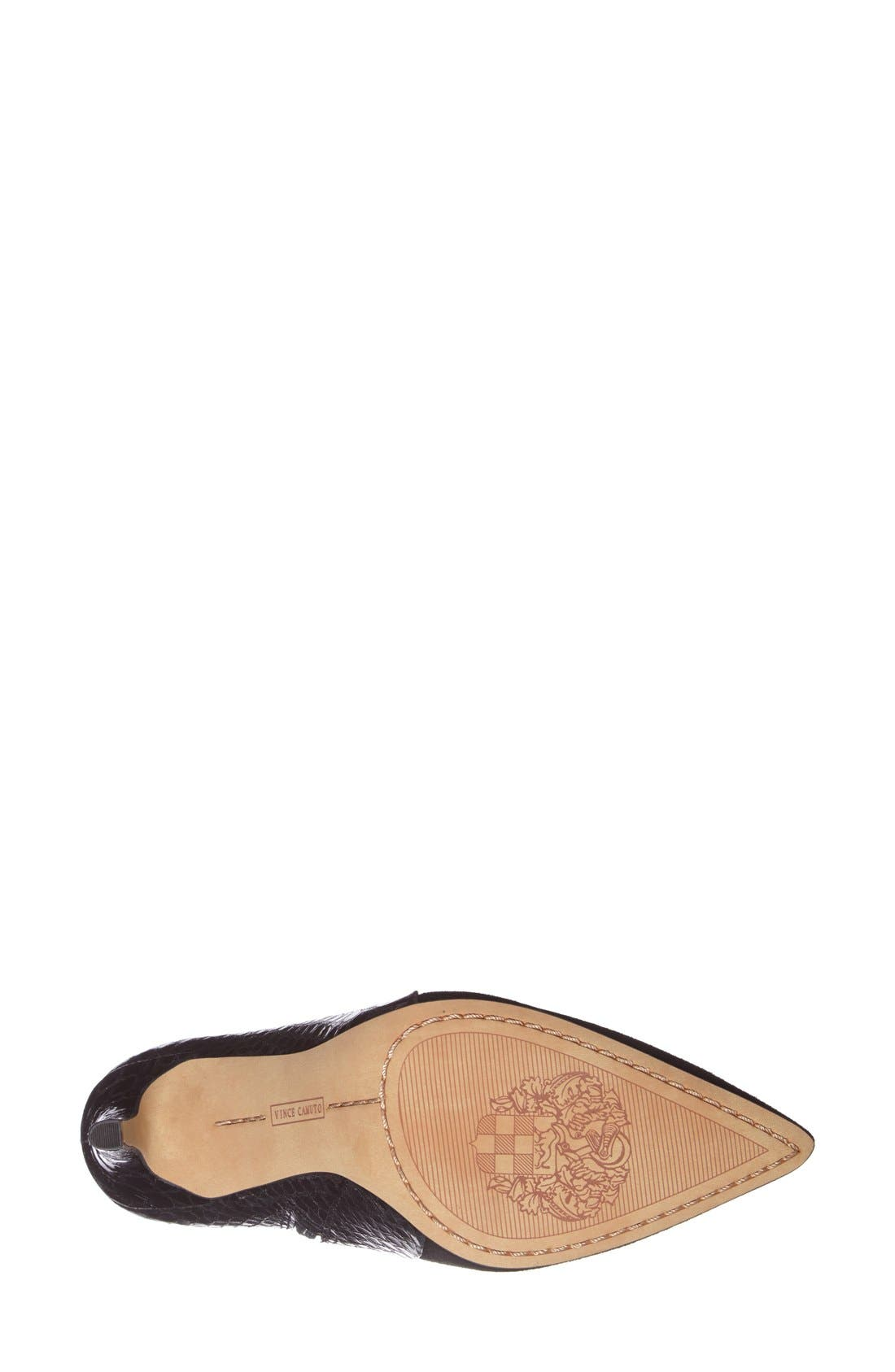 Alternate Image 4  - Vince Camuto 'Kasi' Pointy Toe Bootie (Nordstrom Exclusive) (Women)