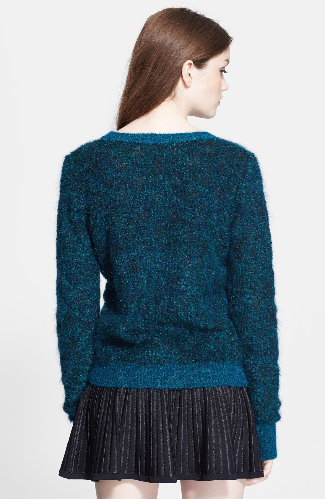 Alternate Image 2  - A.L.C. 'Adina' Metallic Mohair Sweater