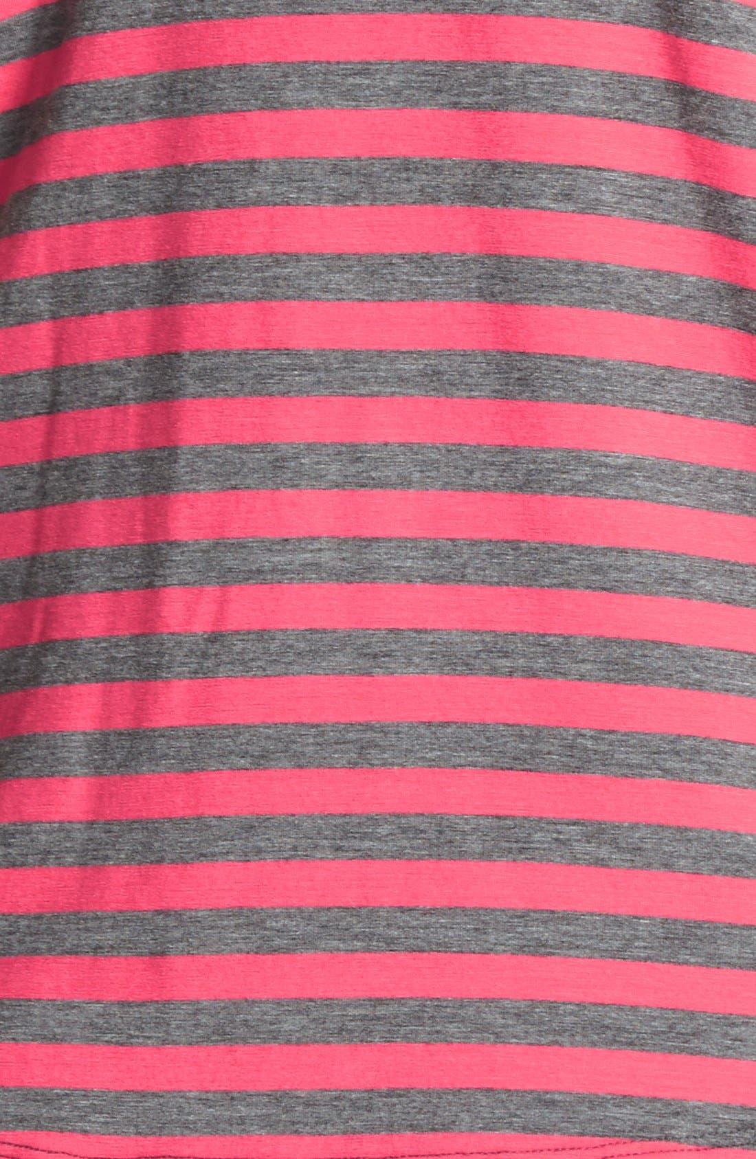 Alternate Image 3  - Halogen® Layered Stretch Knit Maxi Dress (Plus Size)