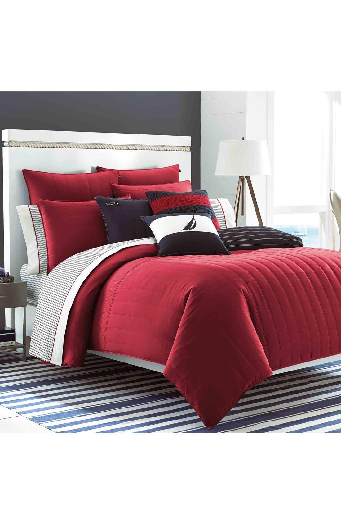 Alternate Image 3  - Nautica Mainsail Quilted Comforter & Sham Set