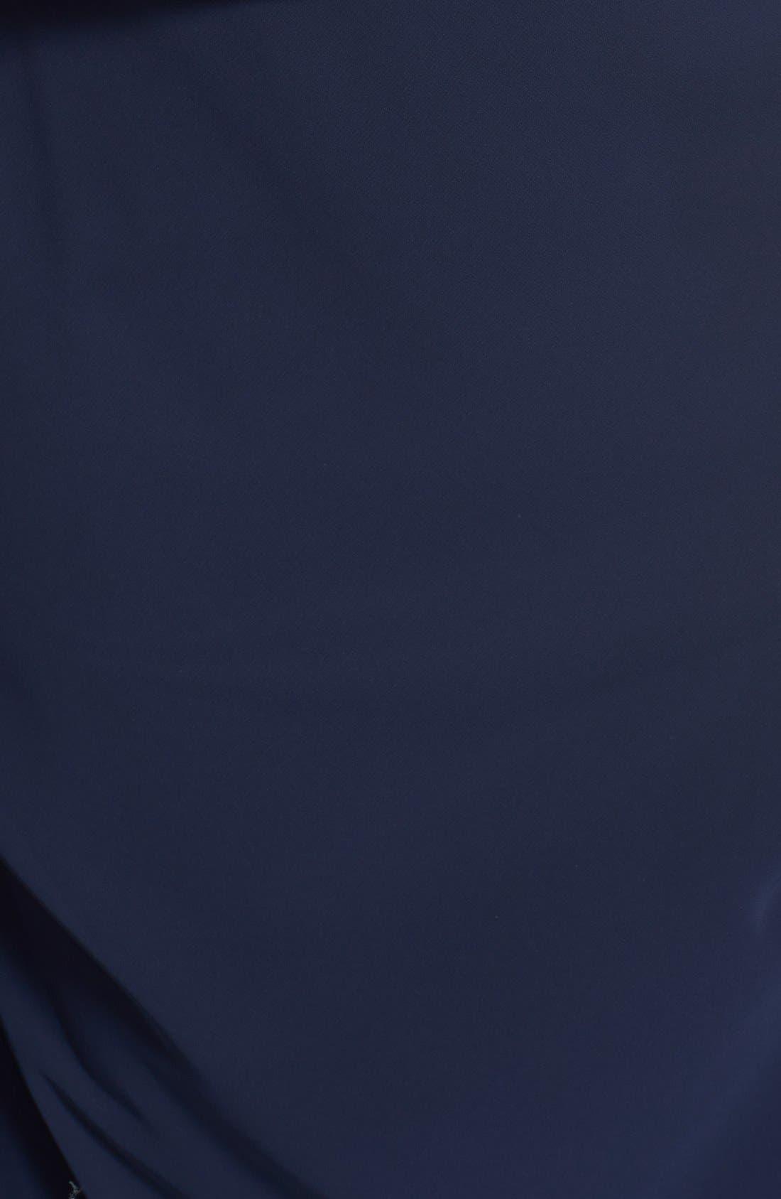 Alternate Image 3  - Alex Evenings Rhinestone Trim Gown & Jacket (Plus Size)