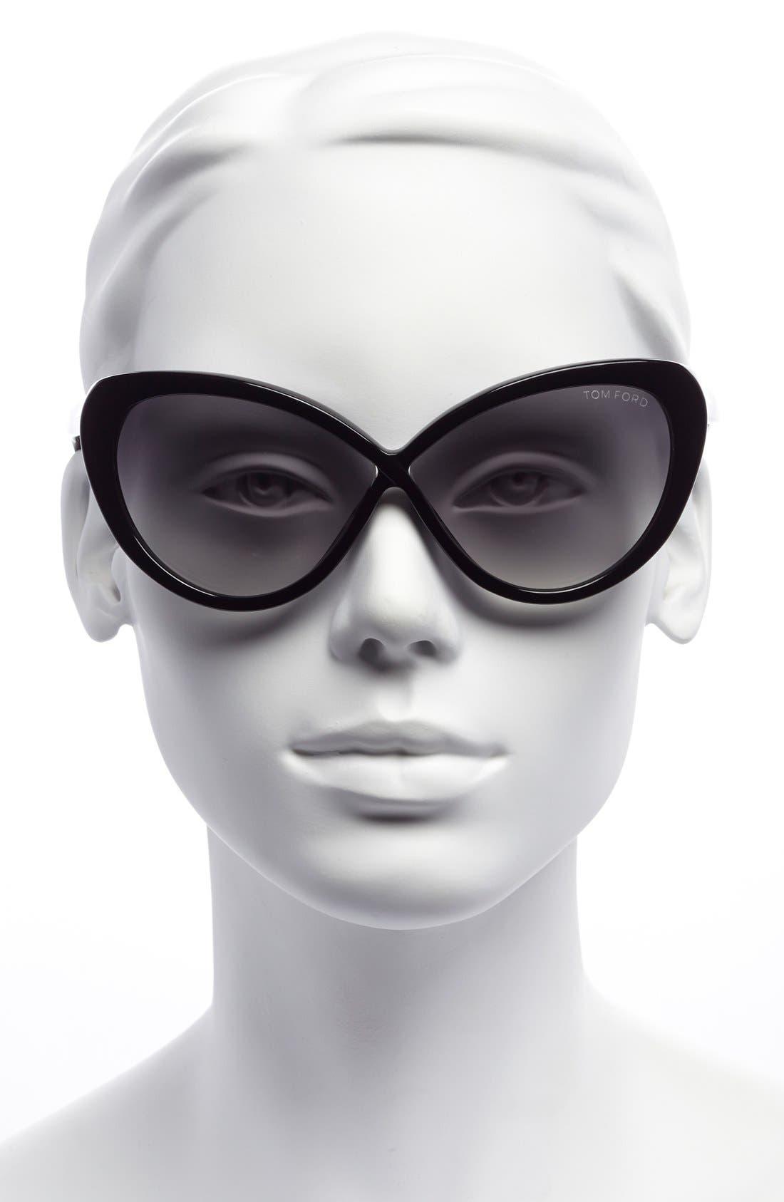 Alternate Image 2  - Tom Ford 'Madison' 63mm Retro Sunglasses