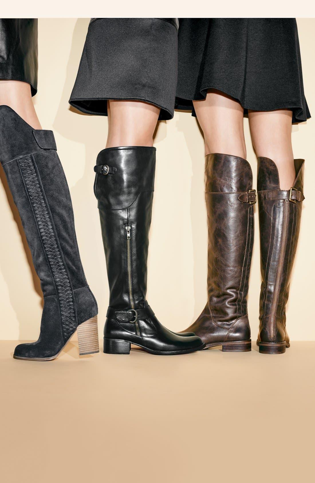 Alternate Image 5  - Hinge 'Sannibel' Leather Over the Knee Boot (Women)