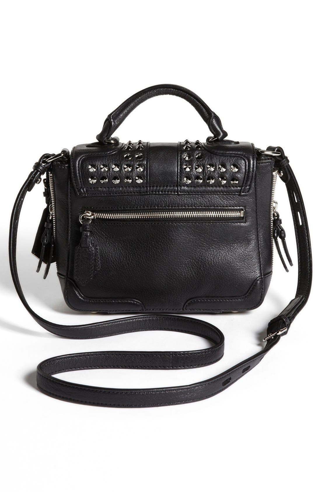 Alternate Image 4  - Rebecca Minkoff 'Elle Mini with Studs' Crossbody Bag