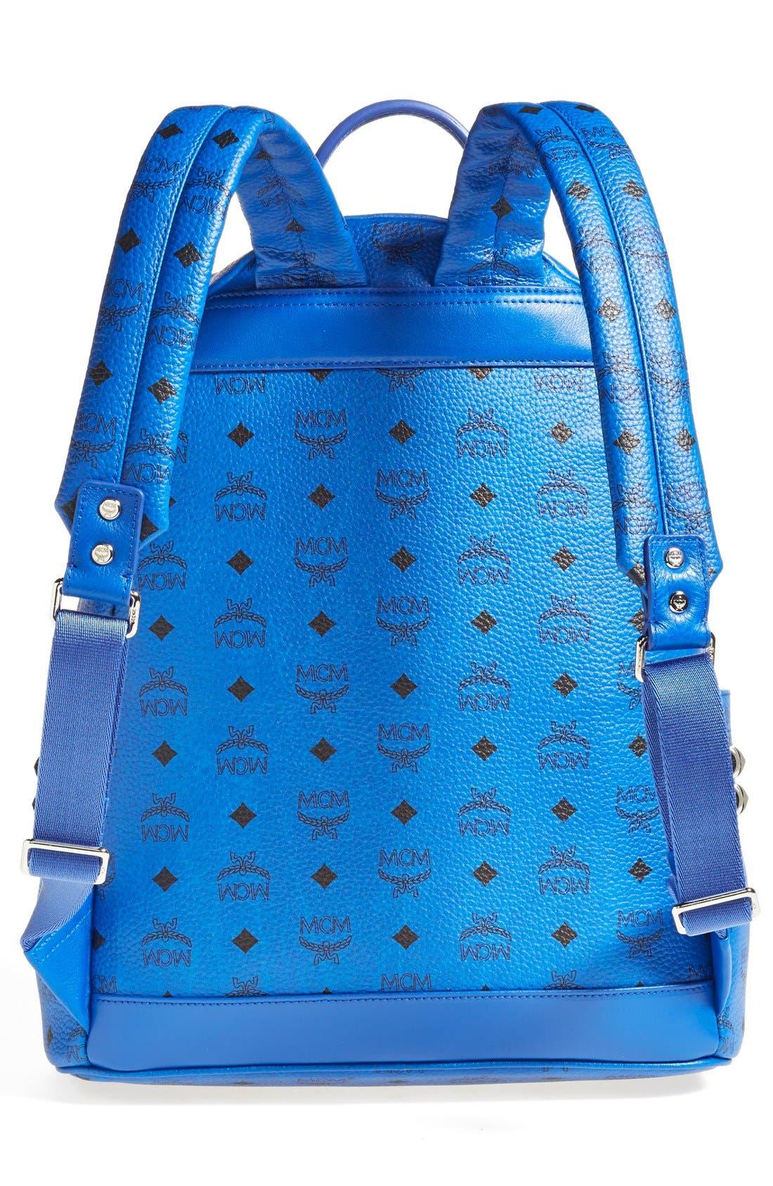 Alternate Image 4  - MCM 'Medium Visetos' Coated Canvas Backpack
