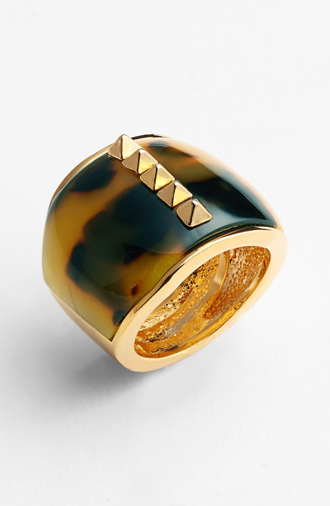 Alternate Image 1 Selected - Vince Camuto 'Argentine Villa' Studded Cigar Band Ring