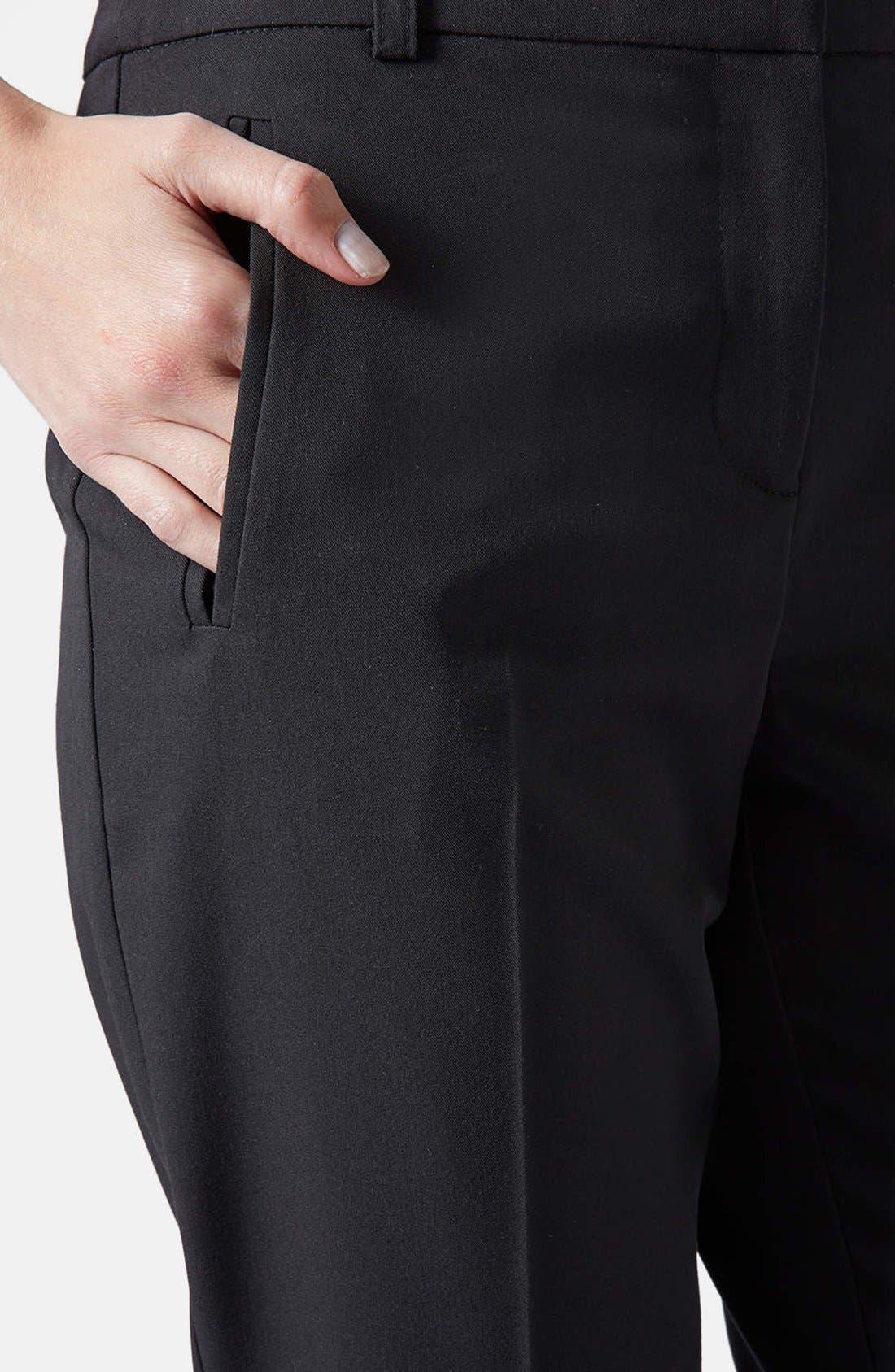 Alternate Image 4  - Topshop Cigarette Pants (Regular & Short)