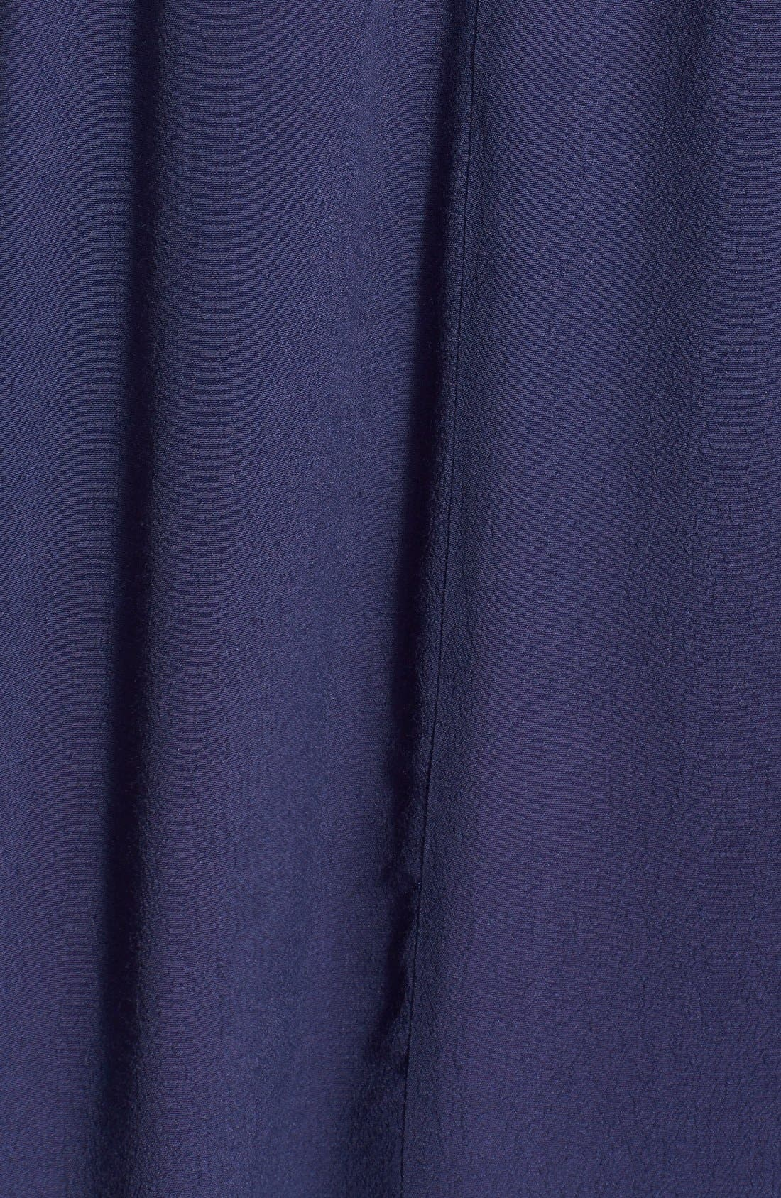 Alternate Image 3  - ASTR Cold Shoulder Silk Blend Top