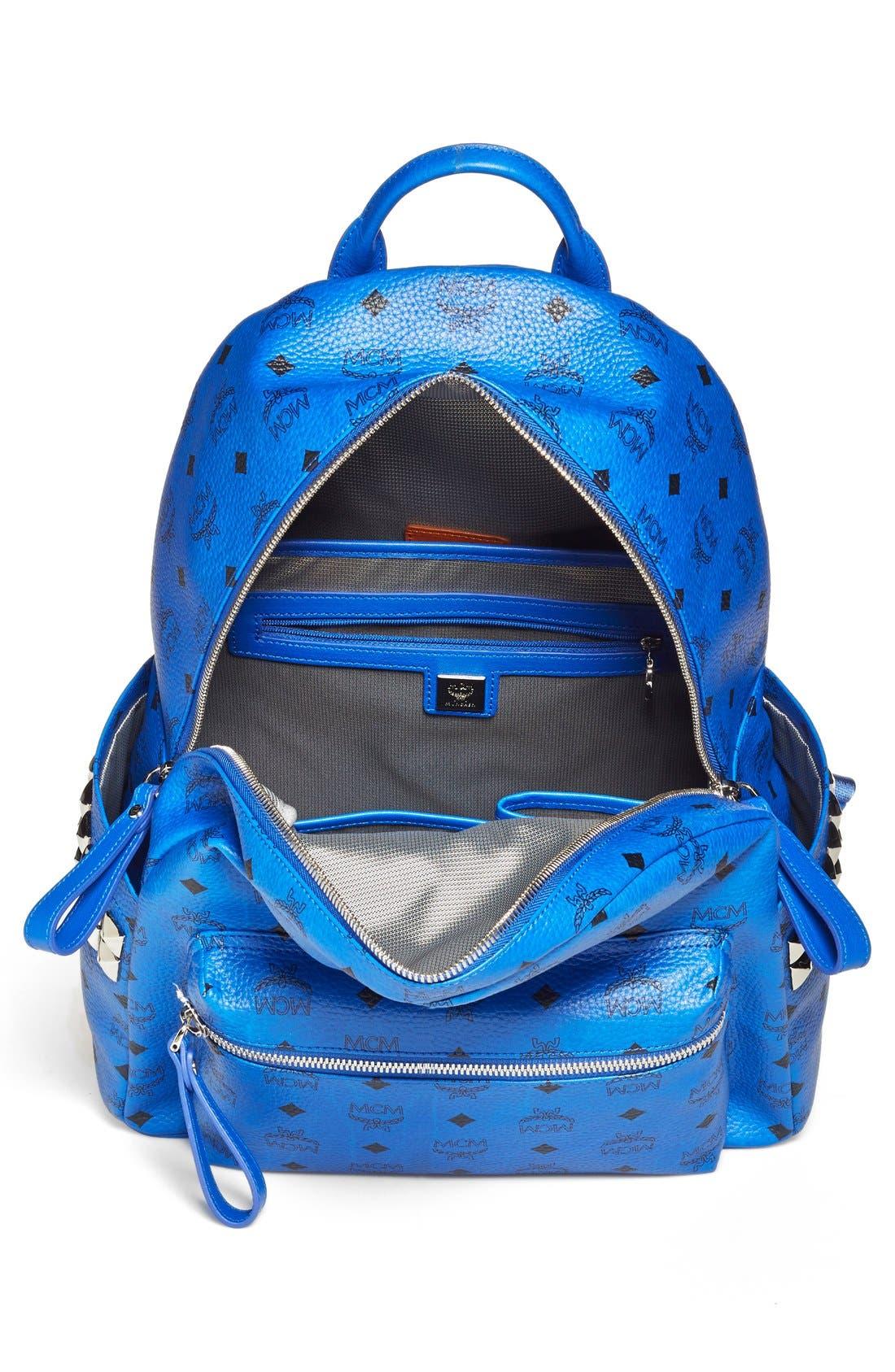 Alternate Image 3  - MCM 'Medium Visetos' Coated Canvas Backpack