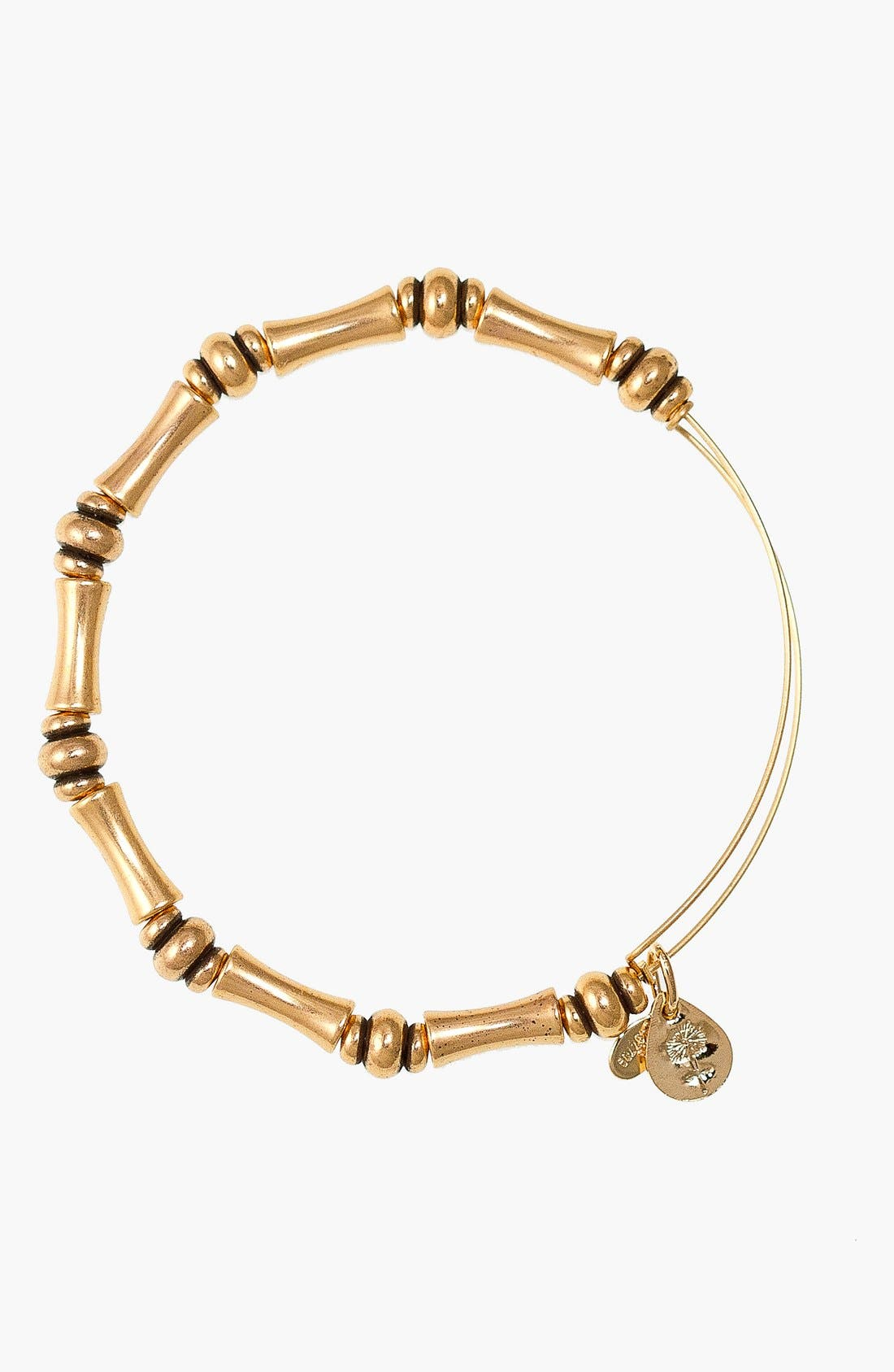 Alternate Image 1 Selected - Alex and Ani 'Bamboo Motif' Expandable Wire Bracelet