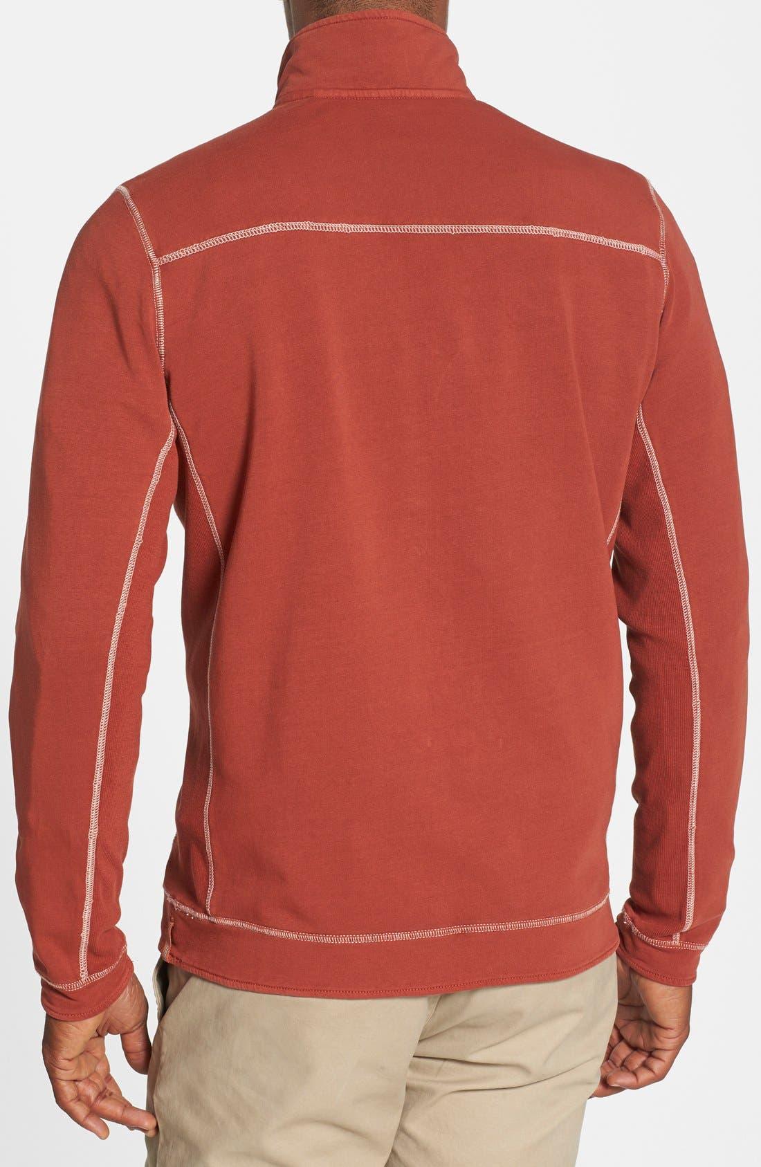 Alternate Image 2  - Tommy Bahama Denim 'New Ben & Terry' Island Modern Fit Half Zip Pullover