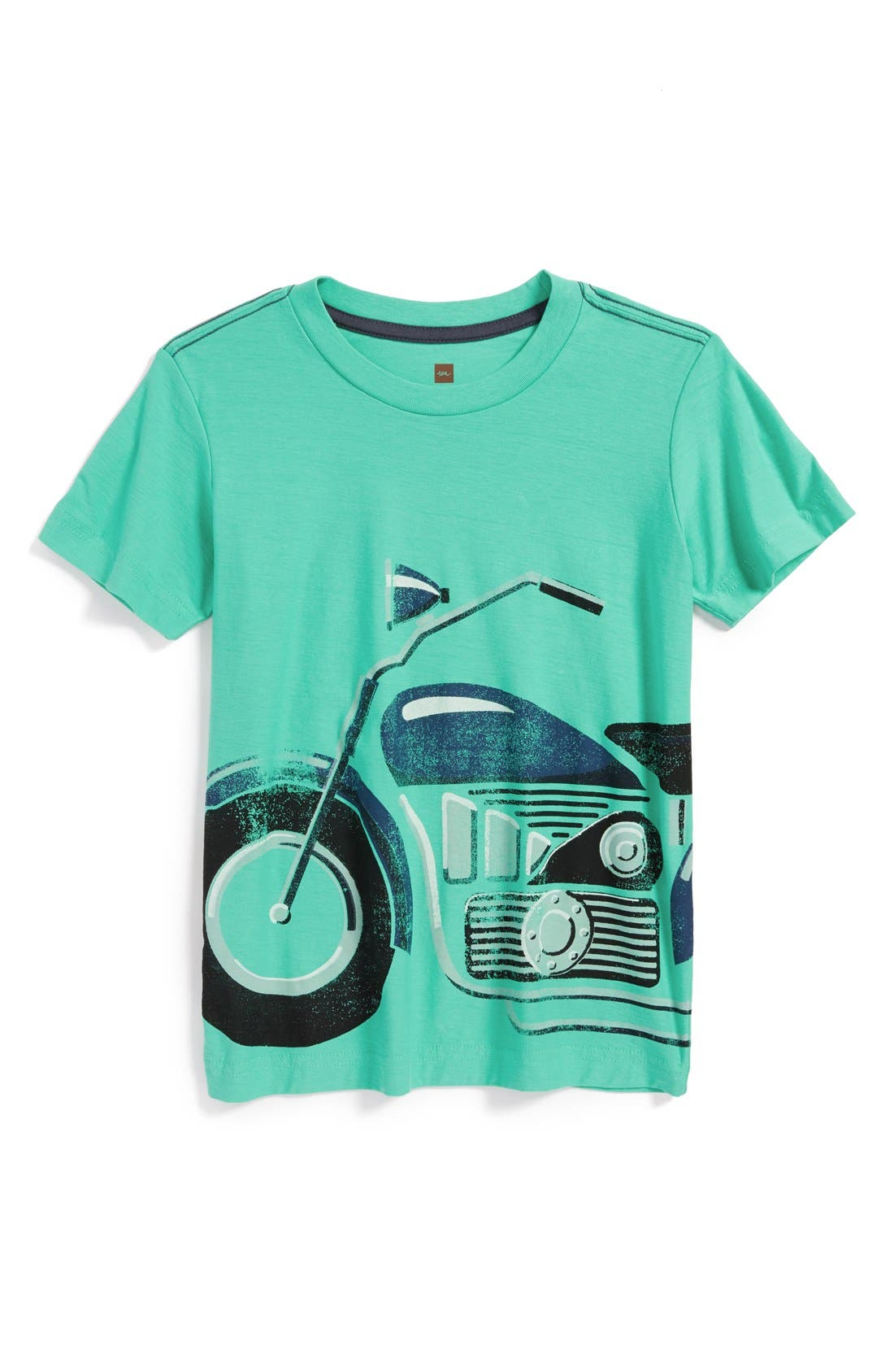 Main Image - Tea Collection 'Motorrad' Graphic T-Shirt (Toddler Boys & Little Boys)
