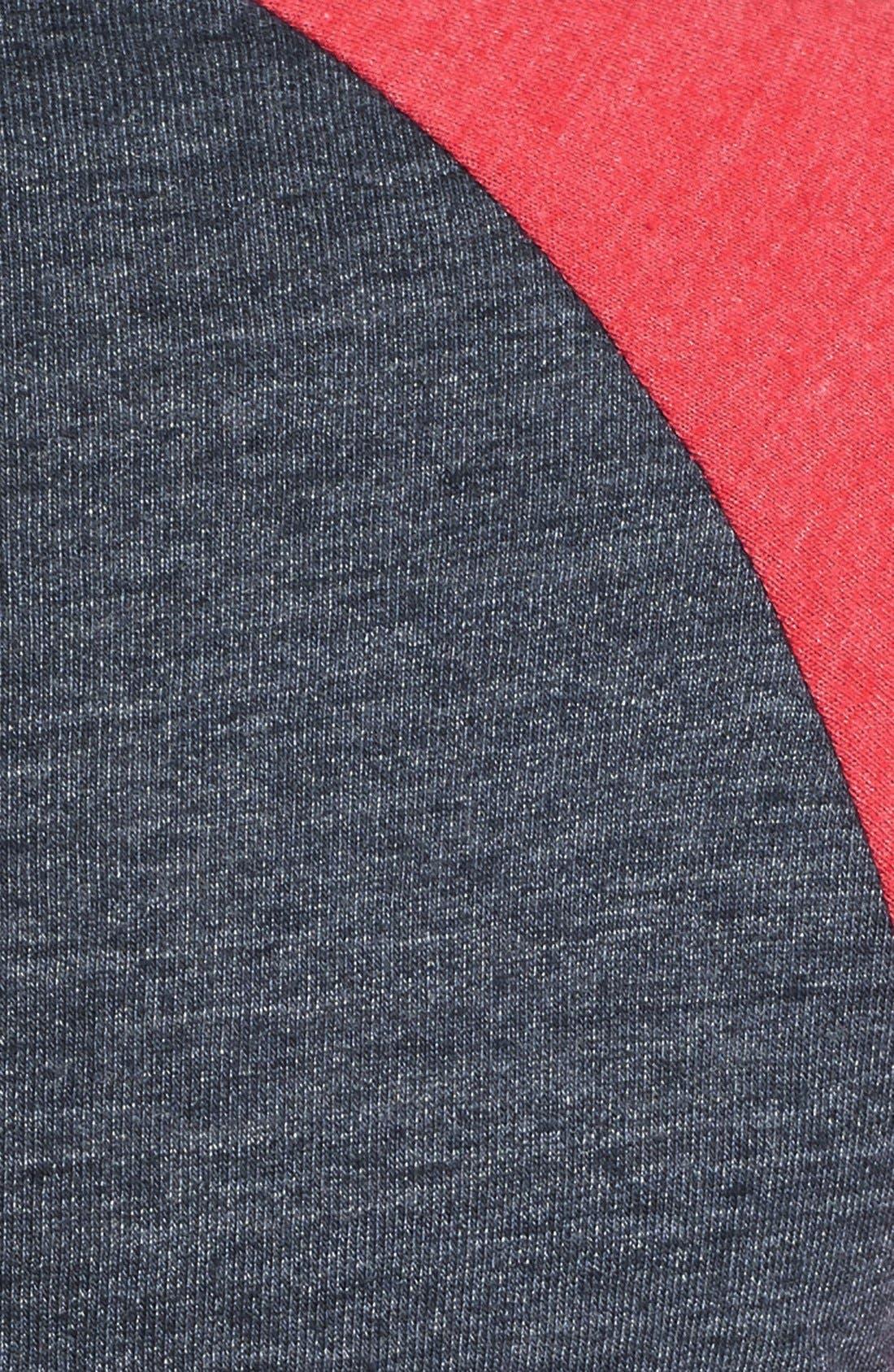 Alternate Image 3  - Alternative Raglan Baseball T-Shirt