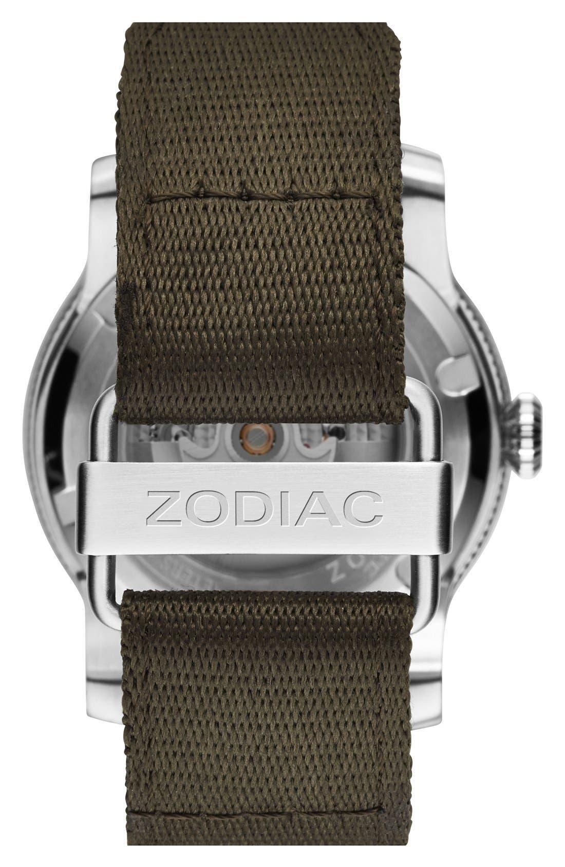 Alternate Image 2  - Zodiac 'Jet-O-Matic' Automatic Watch, 46mm