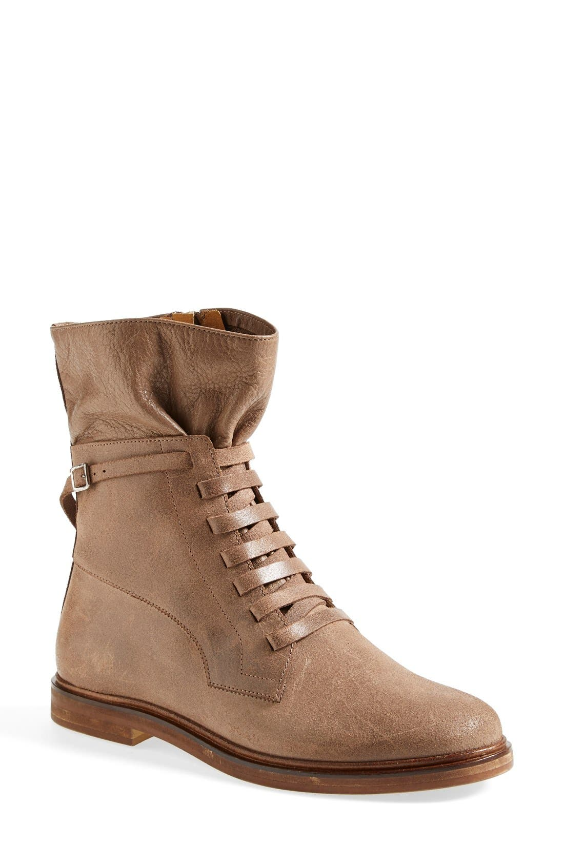 Alternate Image 1 Selected - MM6 Maison Margiela Lace-Up Boot (Women)