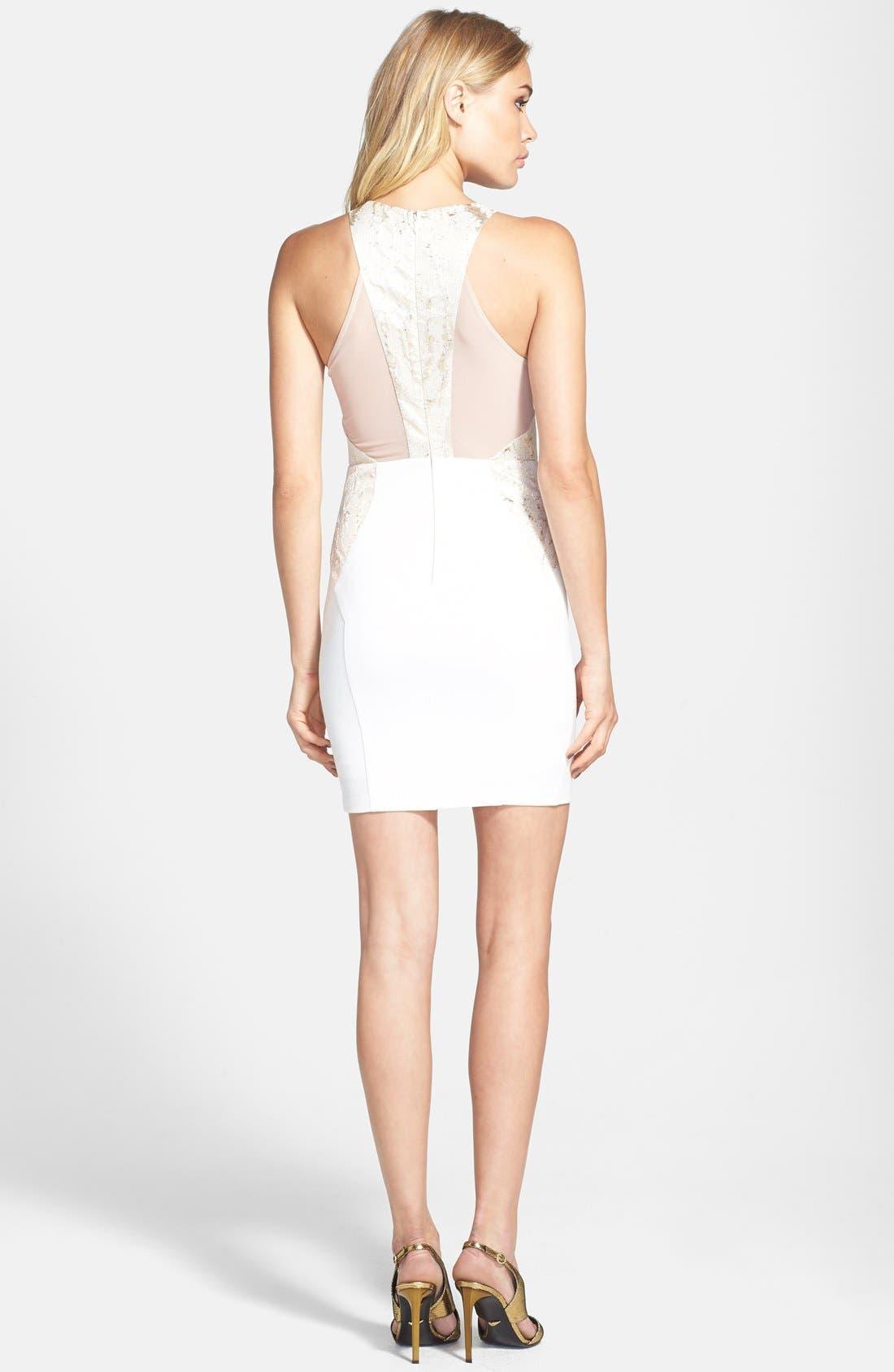 Alternate Image 2  - ASTR Jacquard Body-Con Dress