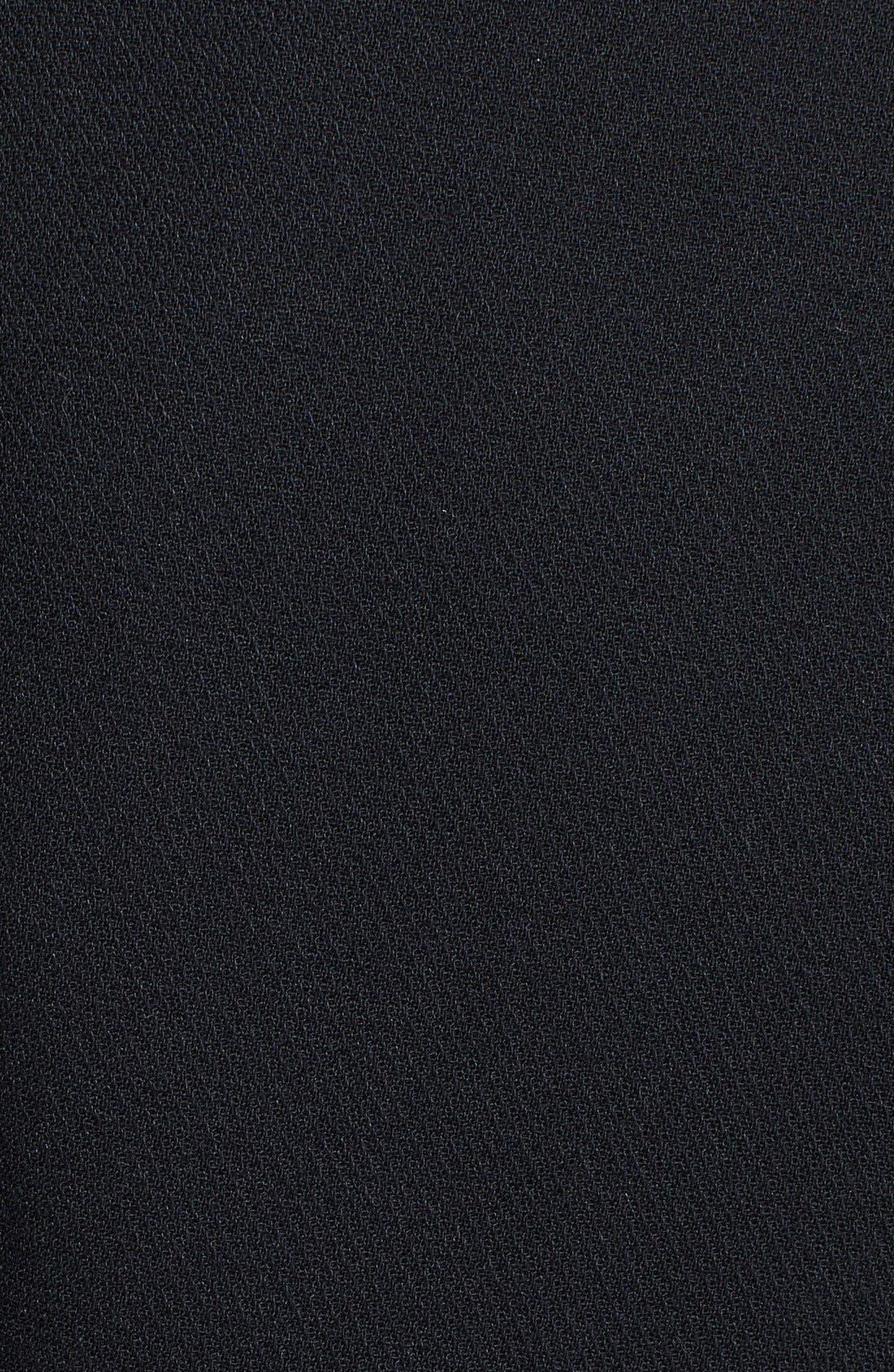 Alternate Image 3  - Diane von Furstenberg Long Sleeve Calf Hair Coat