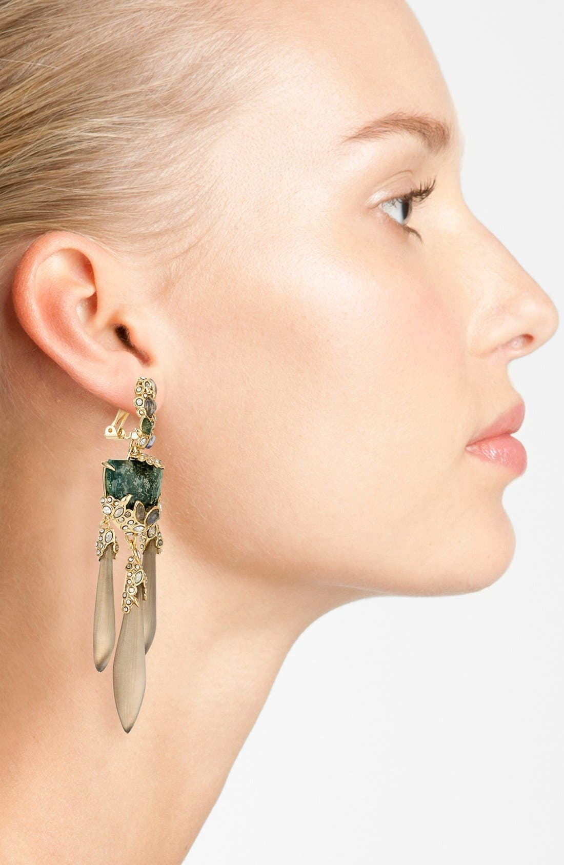 Alternate Image 2  - Alexis Bittar 'Lucite® - Imperial' Chandelier Clip Earrings