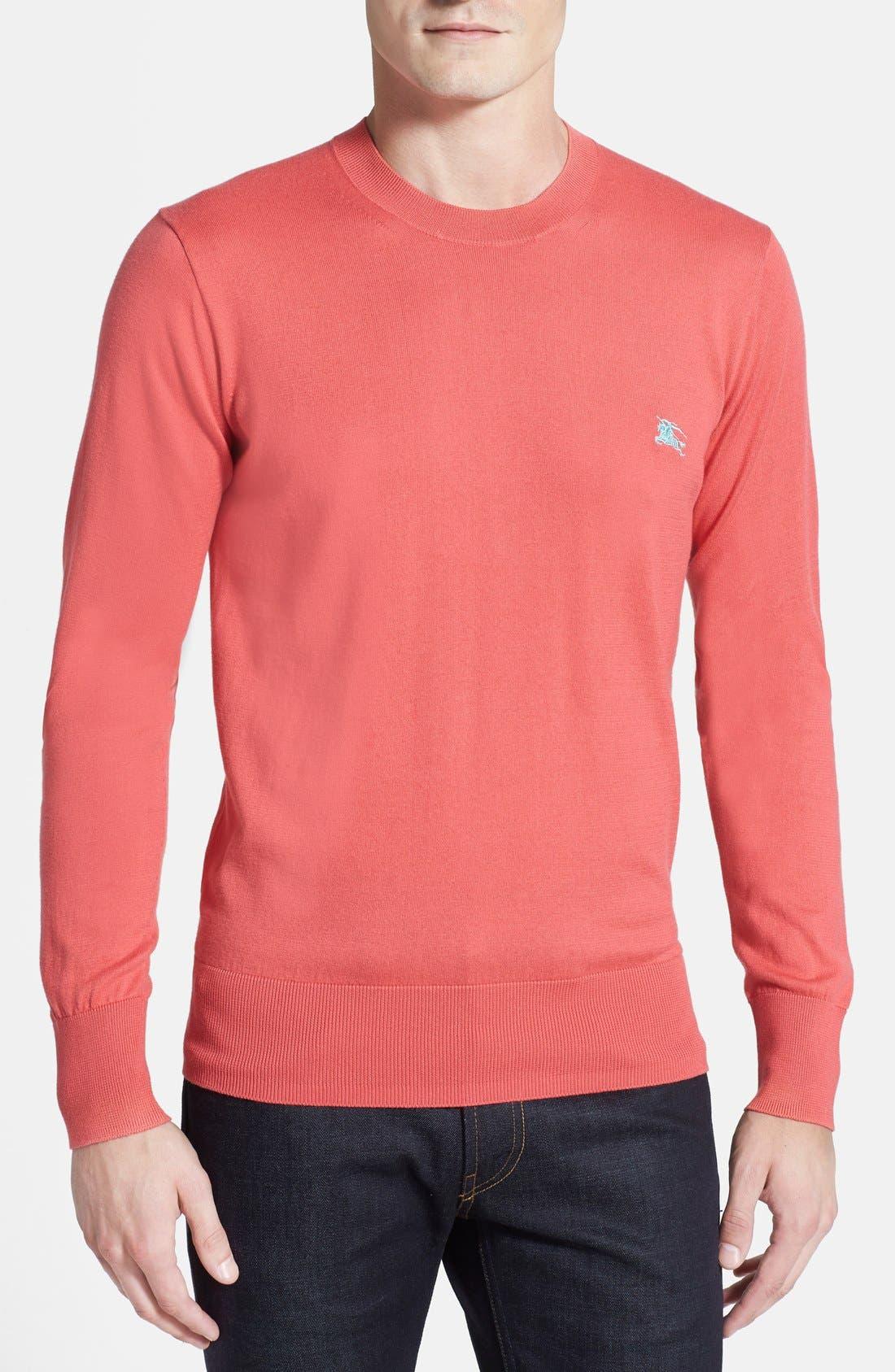 Main Image - Burberry 'Arnal' Crewneck Sweater