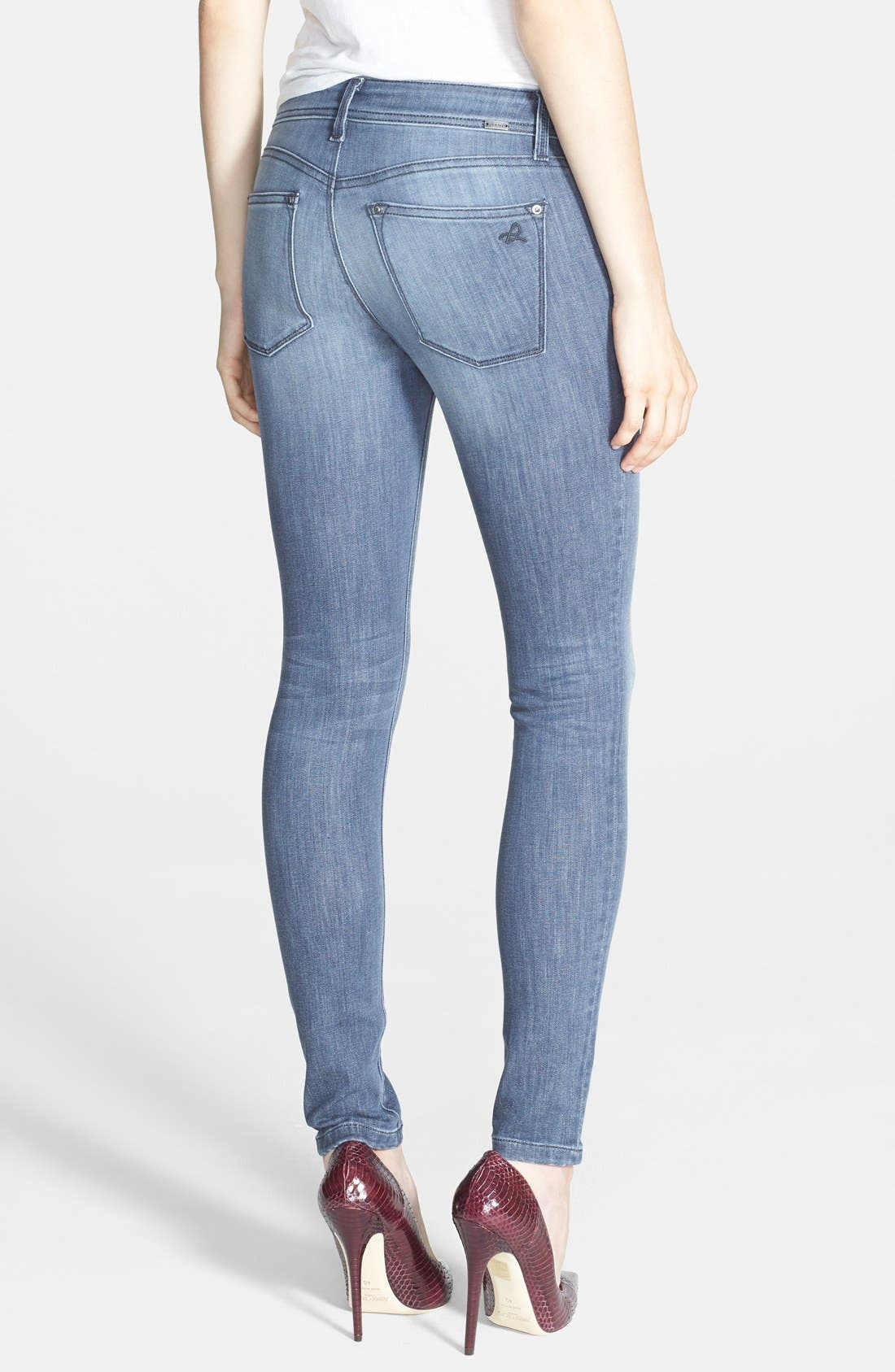 Alternate Image 2  - DL1961 'Emma' Power Legging Jeans (Pierce)