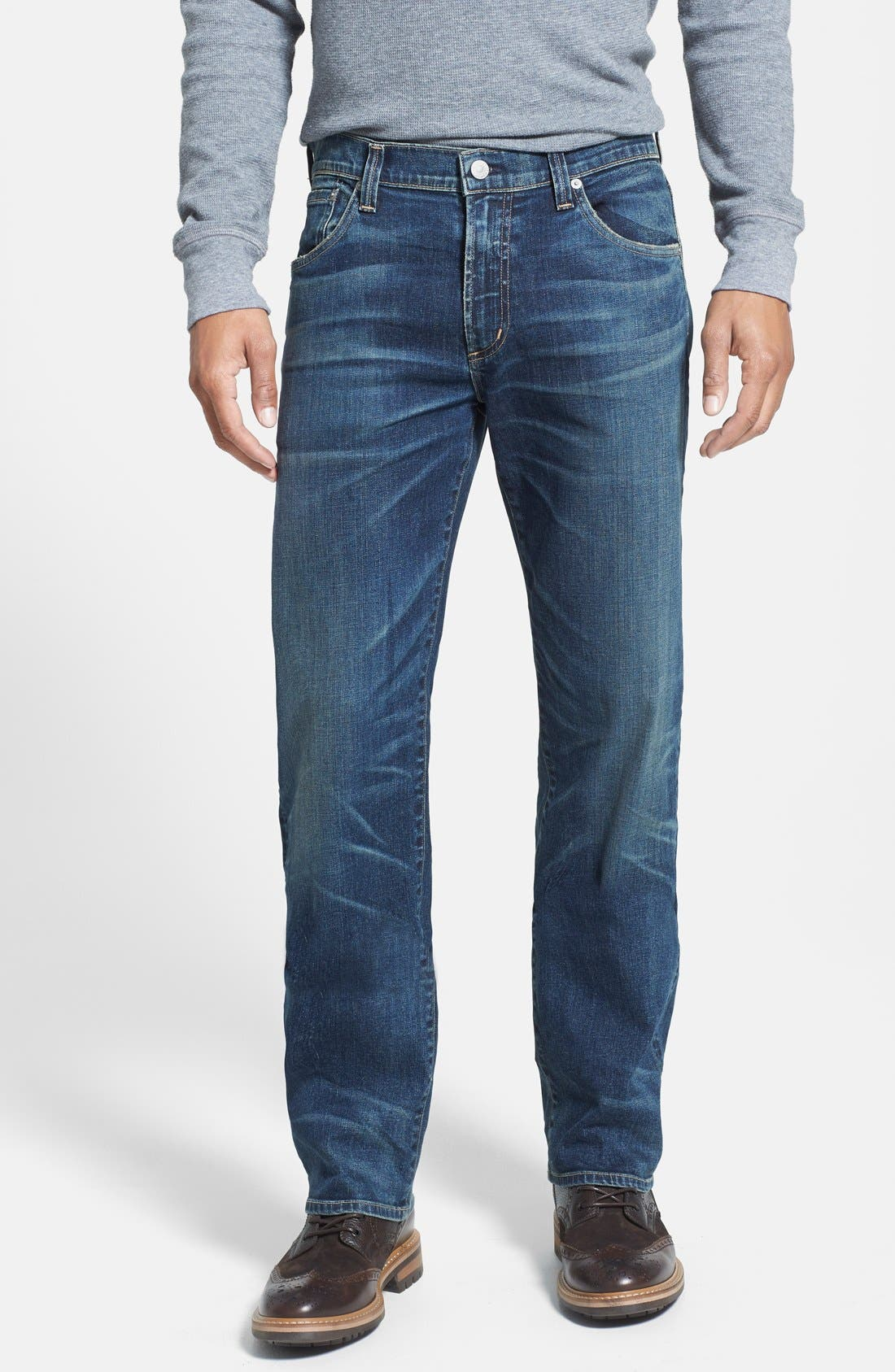 Alternate Image 1 Selected - Citizens of Humanity 'Sid' Classic Straight Leg Jeans (Argo)