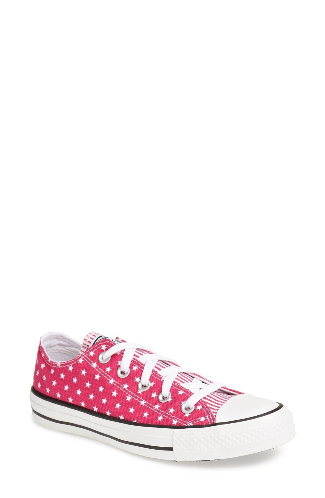 Alternate Image 1 Selected - Converse Chuck Taylor® All Star® 'Mini Stars & Bars' Low Sneaker (Women)