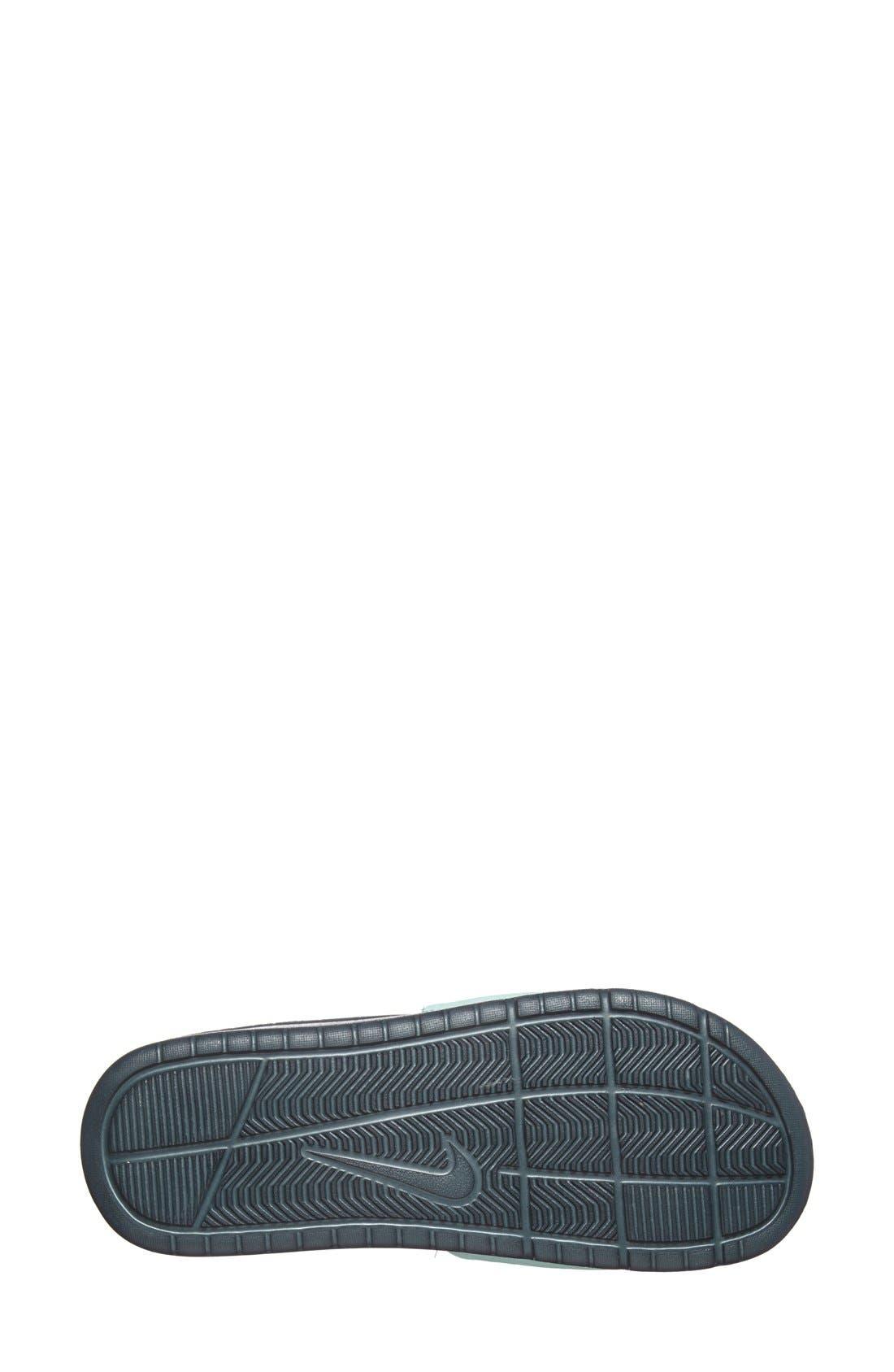 Alternate Image 4  - Nike 'Benassi - Solarsoft' Slide Sandal (Women)