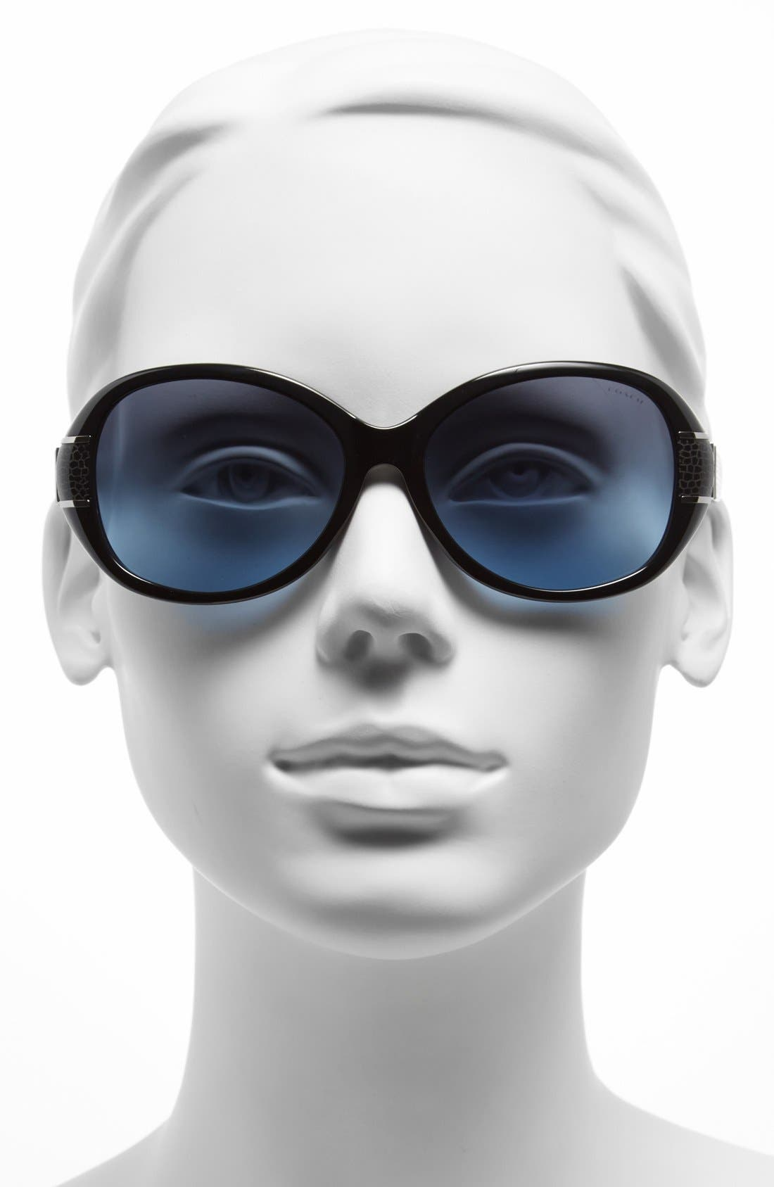 Alternate Image 2  - COACH 'Blaine' 57mm Sunglasses