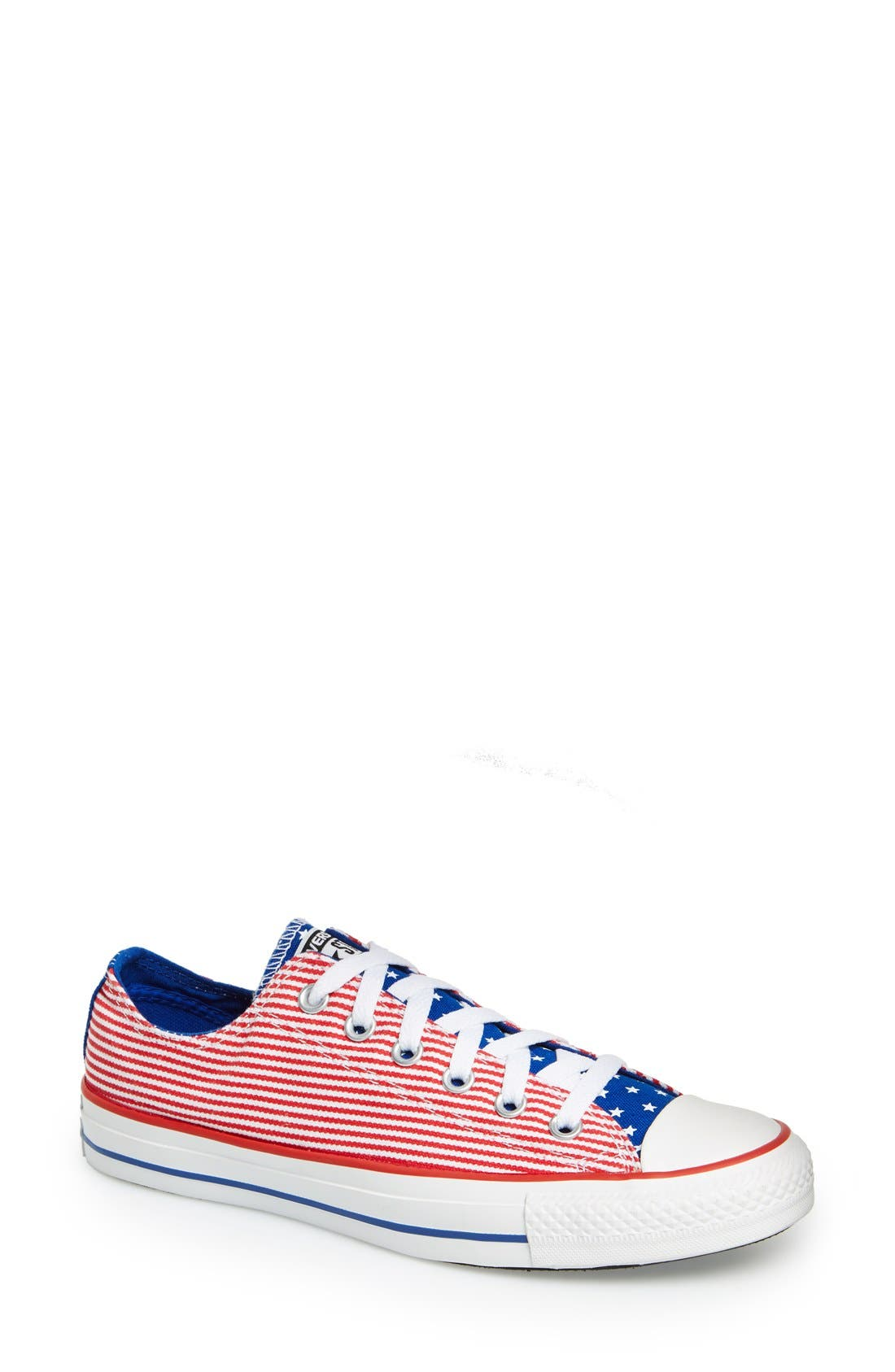 Alternate Image 1 Selected - Converse Chuck Taylor® All Star® 'Ox - Stars and Bars' Low Top Sneaker (Women)