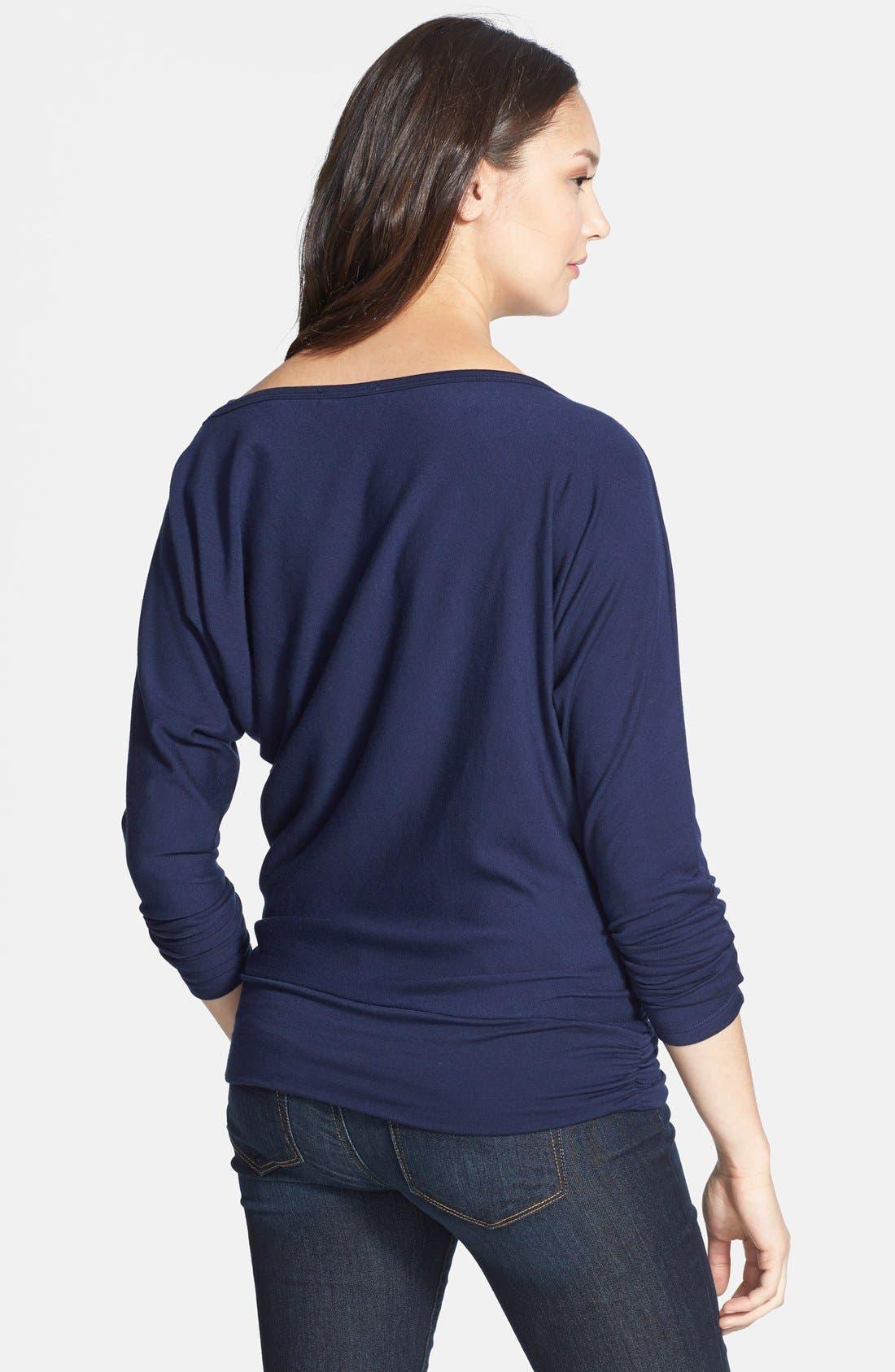 Alternate Image 2  - Tart Maternity 'Yvonne' Long Sleeve Maternity Sweatshirt
