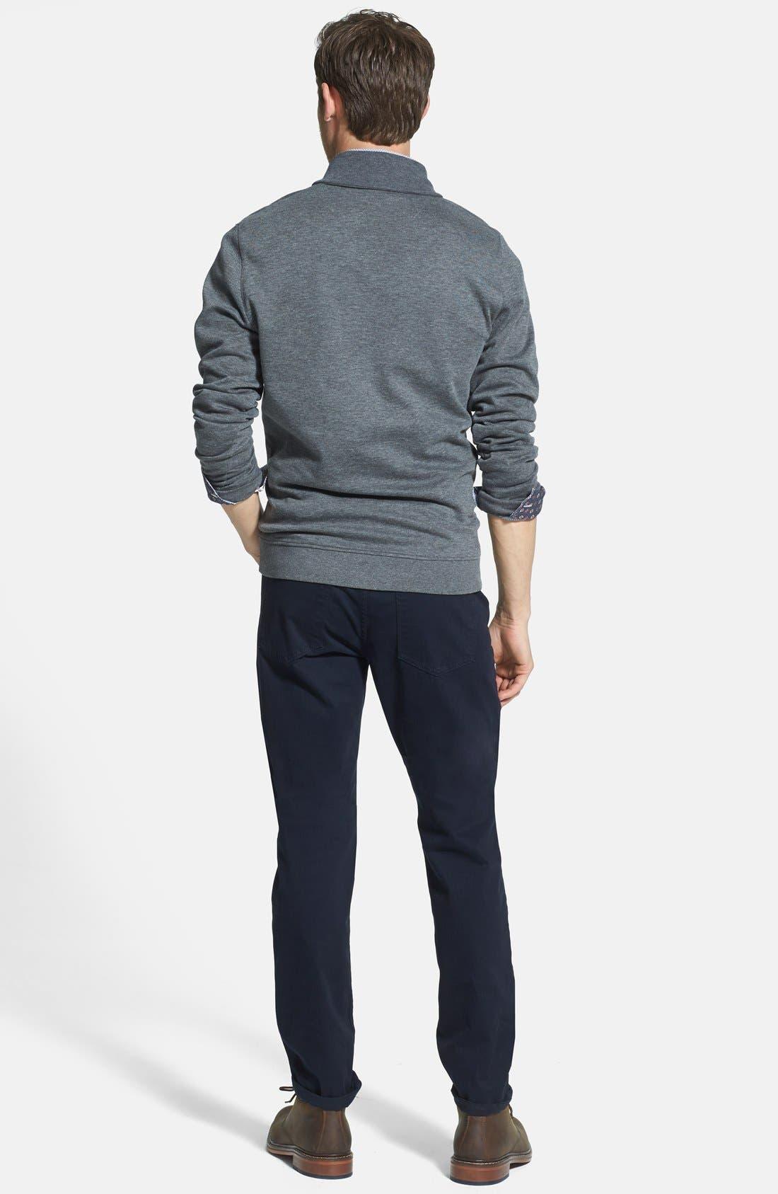 Alternate Image 5  - Ted Baker London 'Bablong' Trim Fit Geometric Sport Shirt