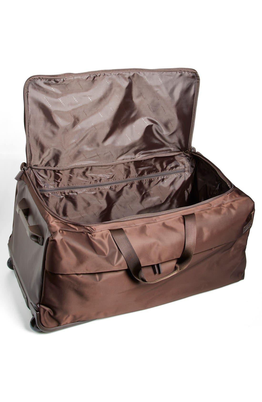 Alternate Image 2  - LIPAULT Paris Foldable Rolling Duffel Bag (30 Inch)
