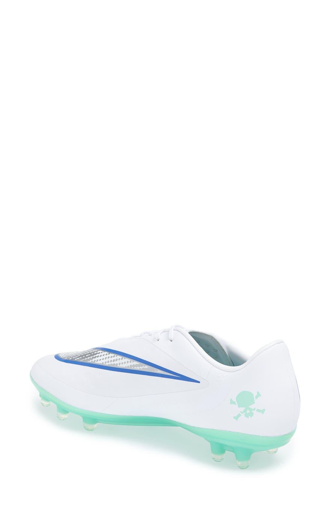 Alternate Image 2  - Nike 'Hypervenom Phatal' Firm Ground Soccer Cleat (Women)