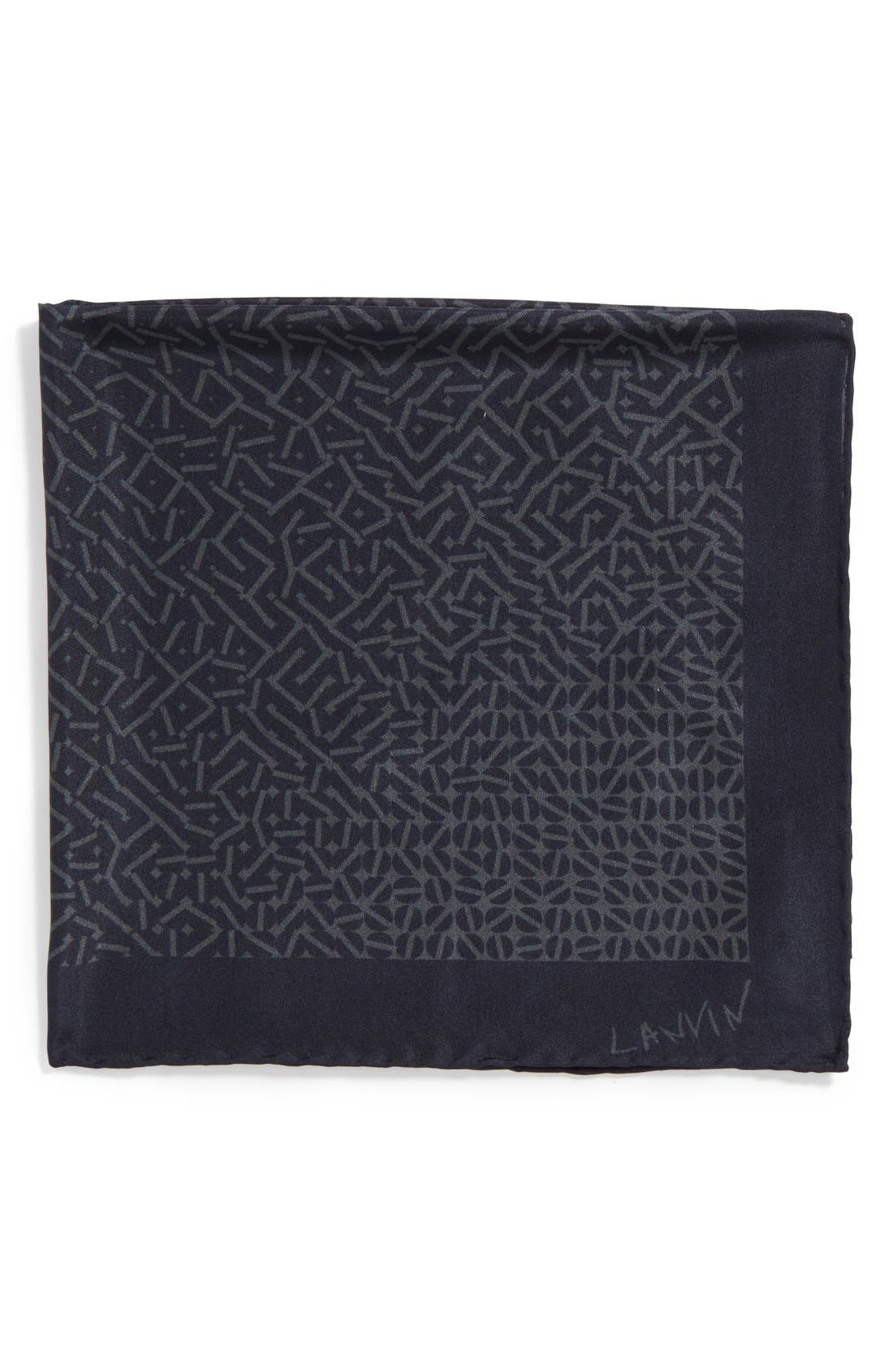 Alternate Image 1 Selected - Lanvin Print Pocket Square