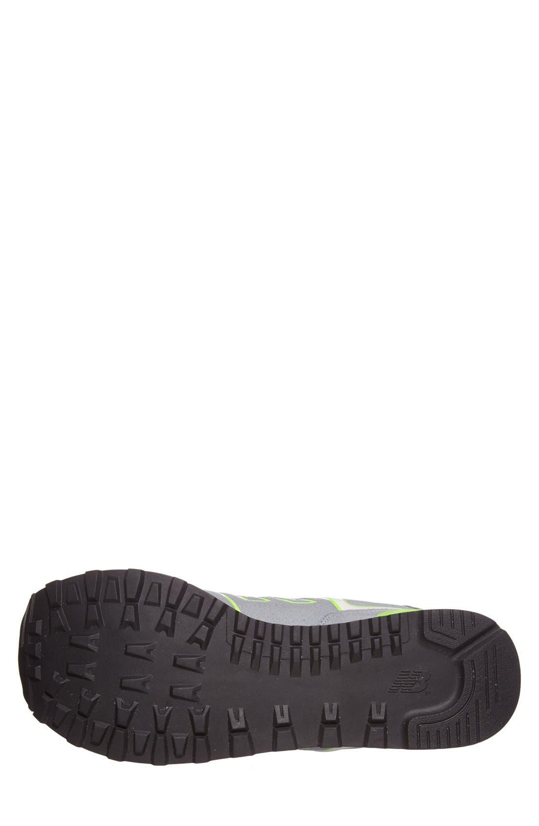Alternate Image 4  - New Balance '574 Neon' Sneaker (Men)