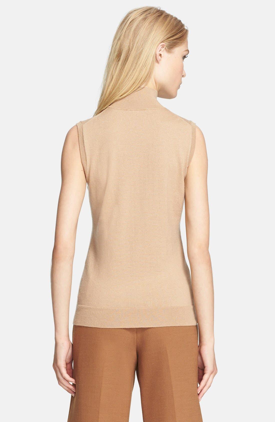 Alternate Image 2  - Theory Sleeveless Cashmere Blend Sweater
