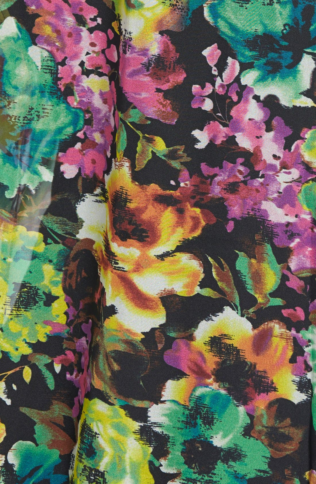 Alternate Image 3  - KUT from the Kloth 'Naomi' Floral Print Top