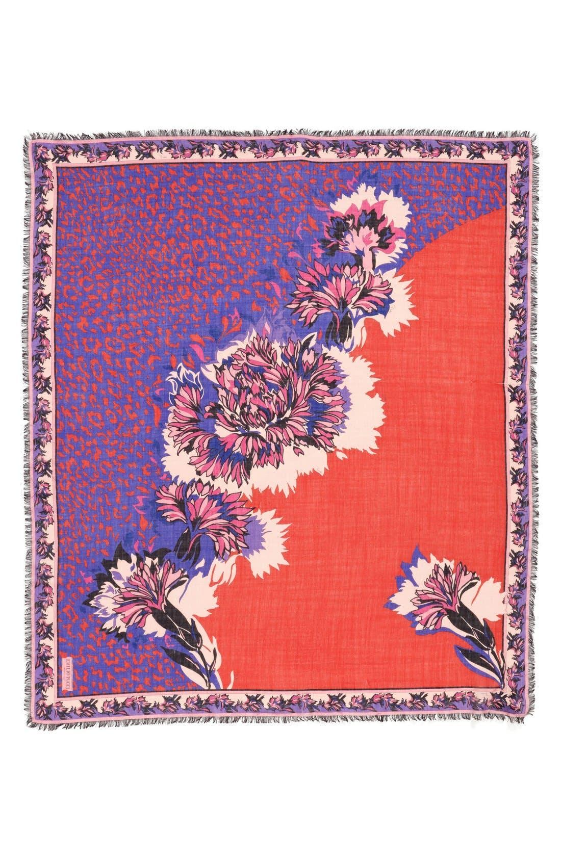 Alternate Image 2  - Emilio Pucci 'Khiva' Wool & Silk Scarf