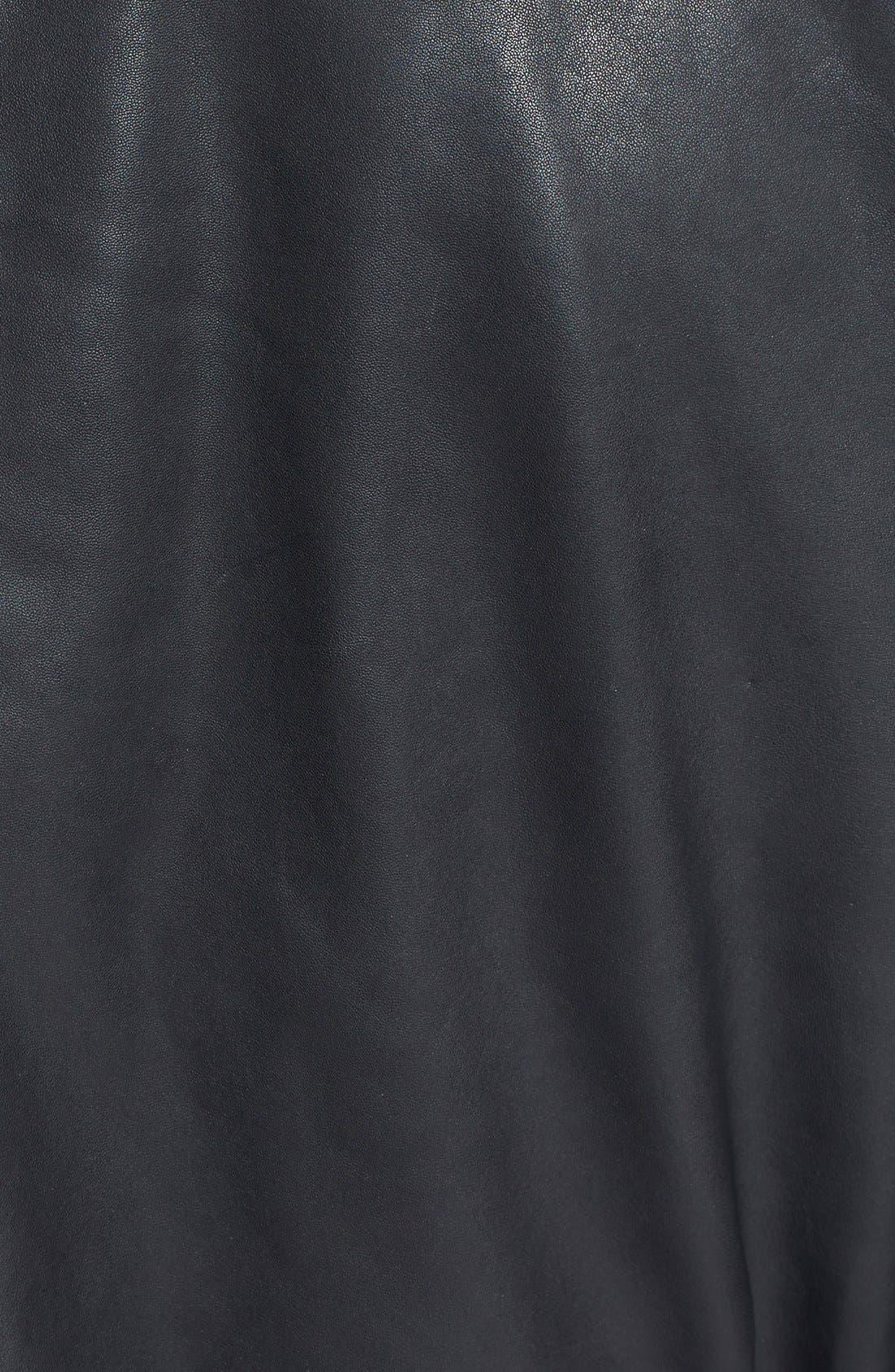 Alternate Image 3  - Cole Haan Vintage Lambskin Leather Jacket