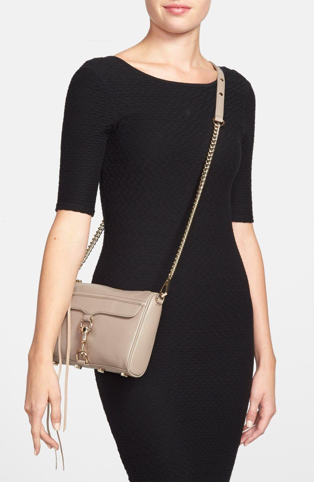 Alternate Image 2  - Rebecca Minkoff 'Mini MAC' Convertible Crossbody Bag
