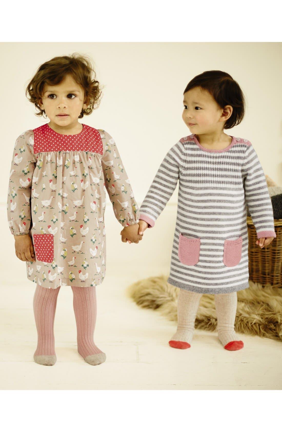 Alternate Image 2  - Mini Boden Hotchpotch Dress (Baby Girls)