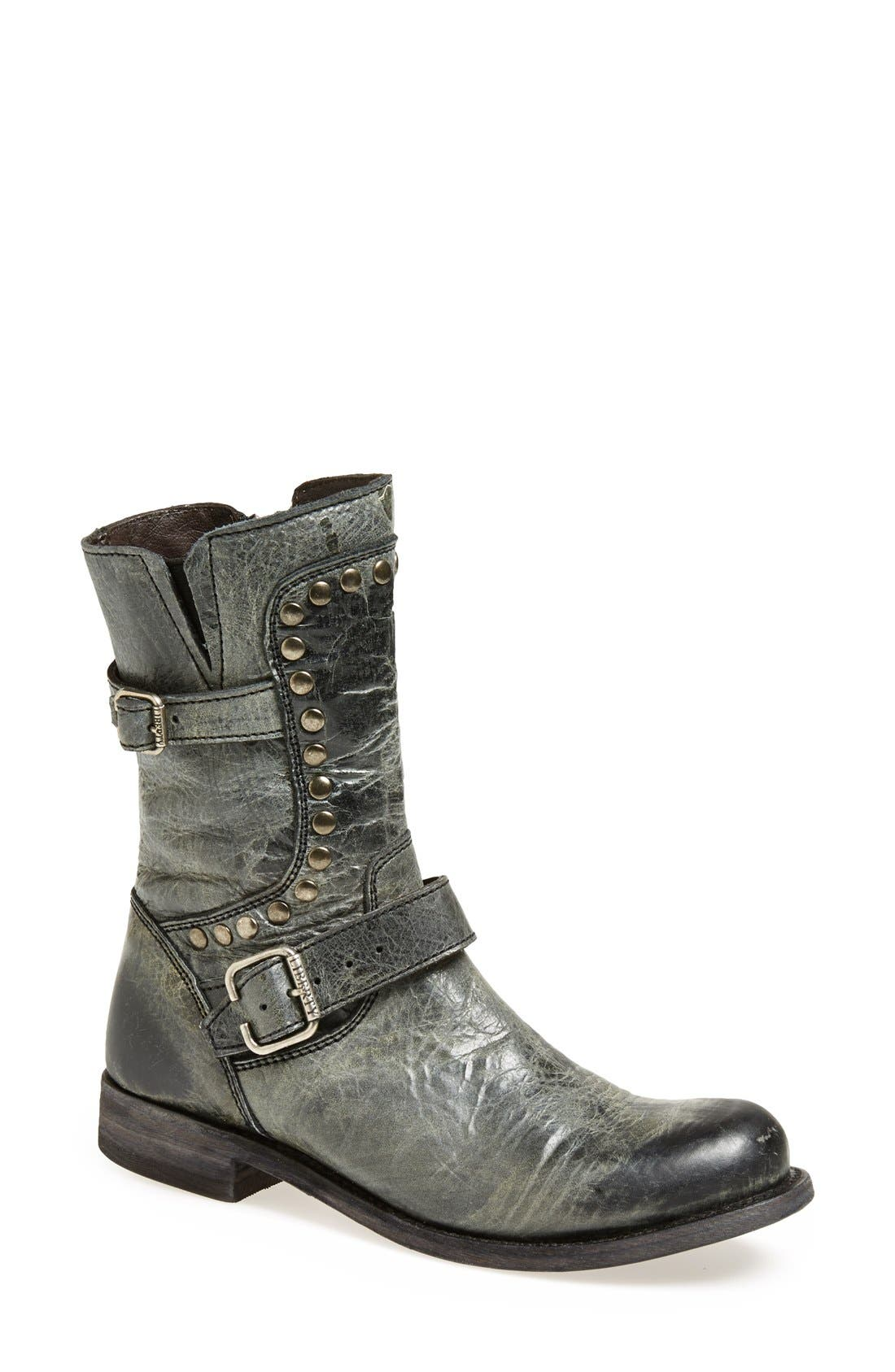 Alternate Image 1 Selected - Liberty Black 'El Paso' Studded Boot (Women)